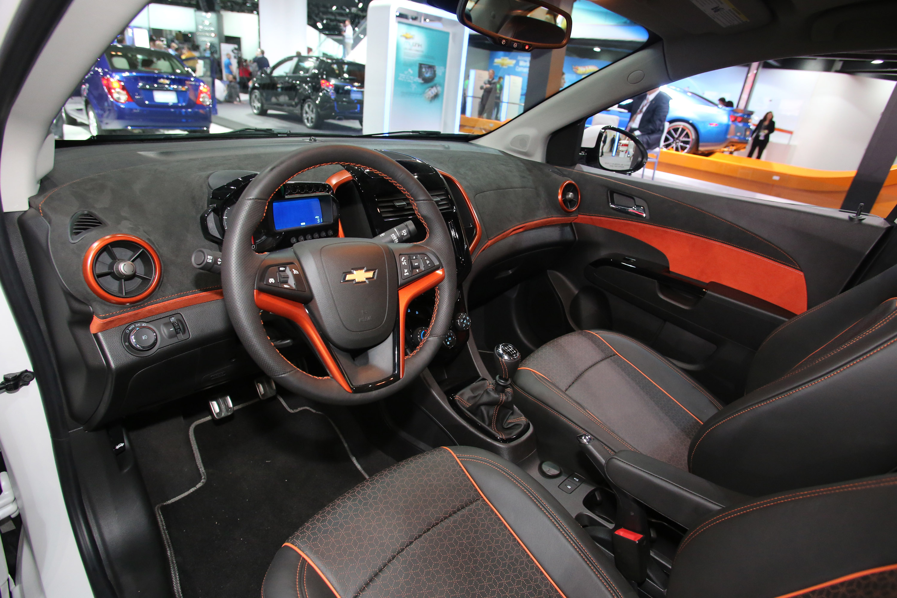 Chevrolet Sonic Ltz Turbo Detroit 2013 Picture 79717
