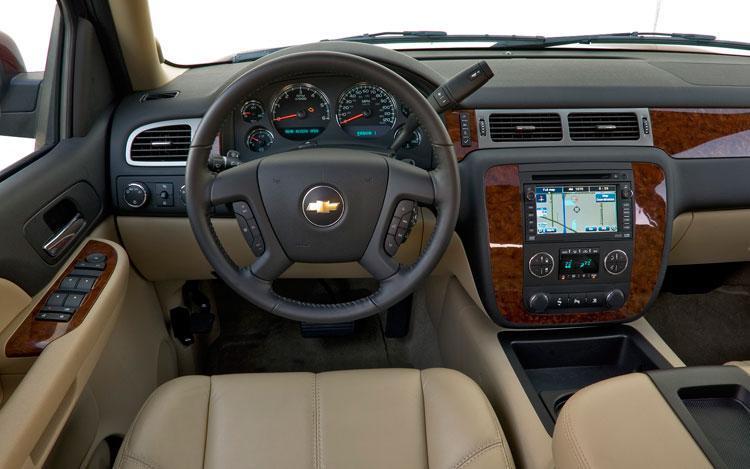 2008 Chevy Suburban Interior