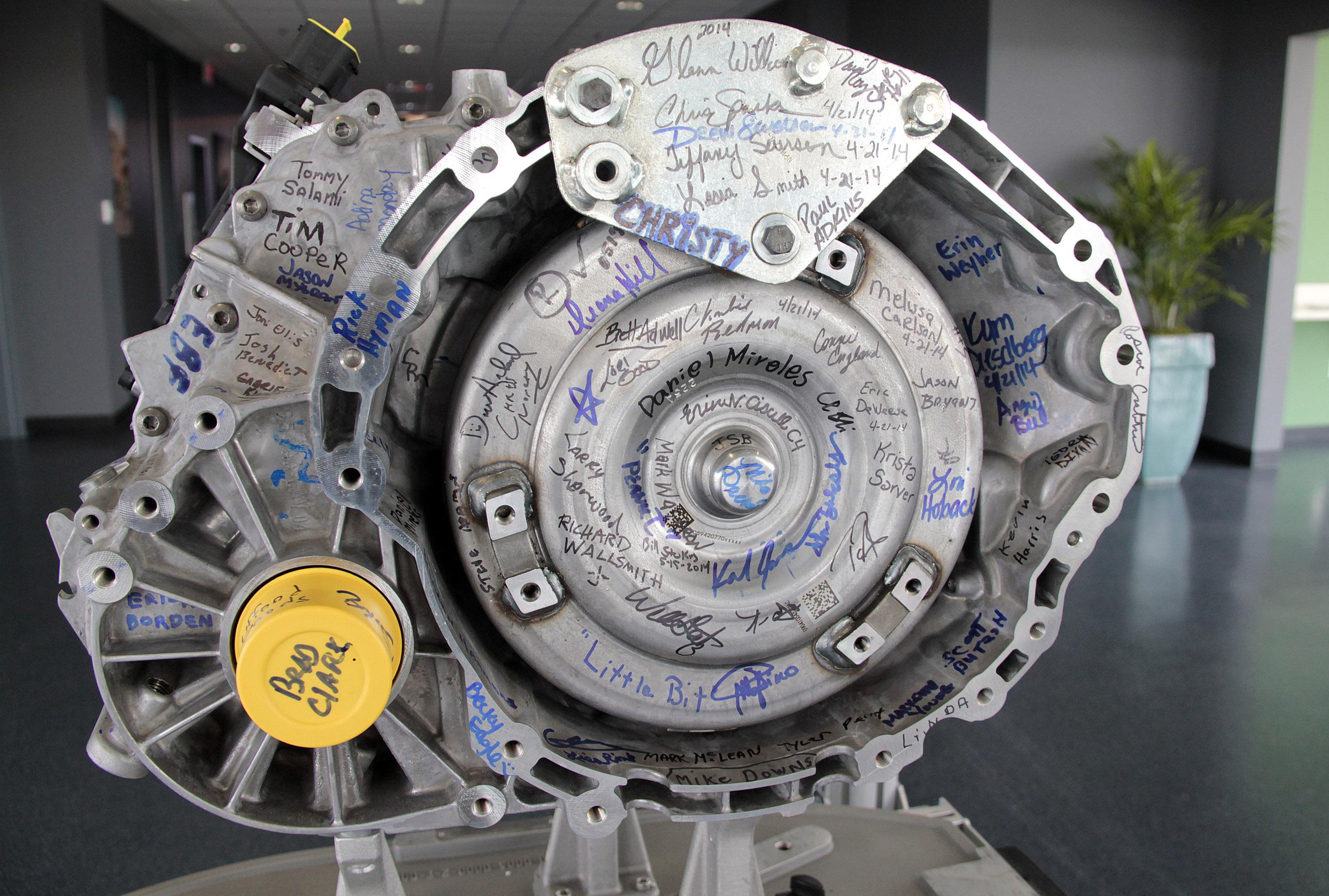 Chrysler 9 Speed Transmission Factory In Tipton Us