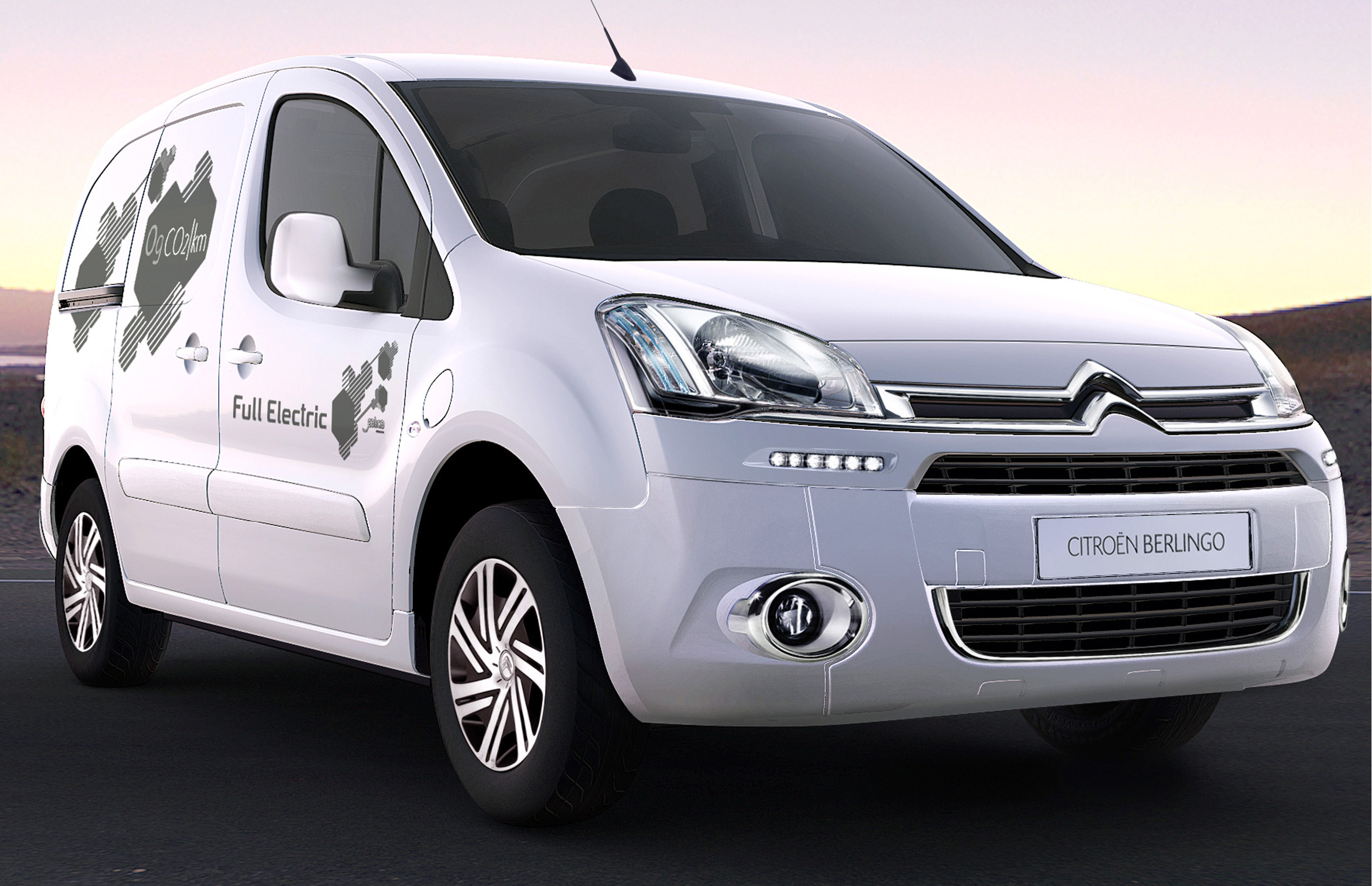citroen berlingo electrique 100 electric van. Black Bedroom Furniture Sets. Home Design Ideas
