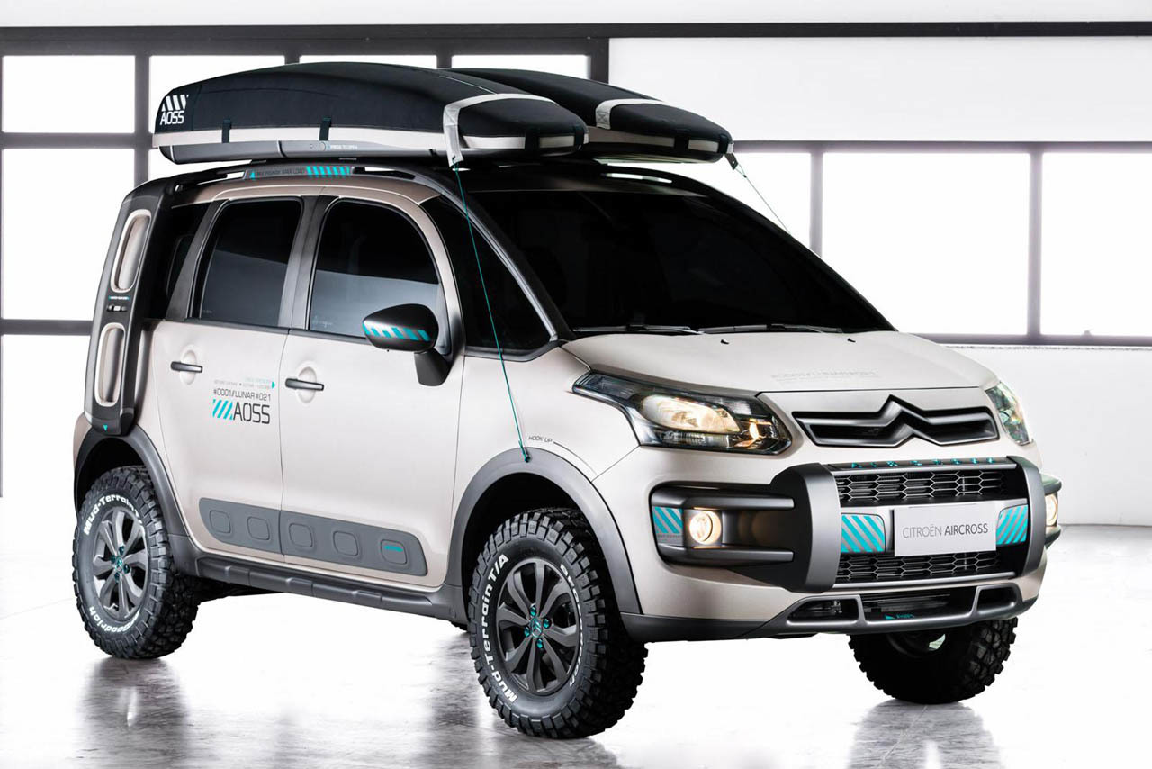 citroen c3 aircross lunar concept strange and sweet as the cactus. Black Bedroom Furniture Sets. Home Design Ideas