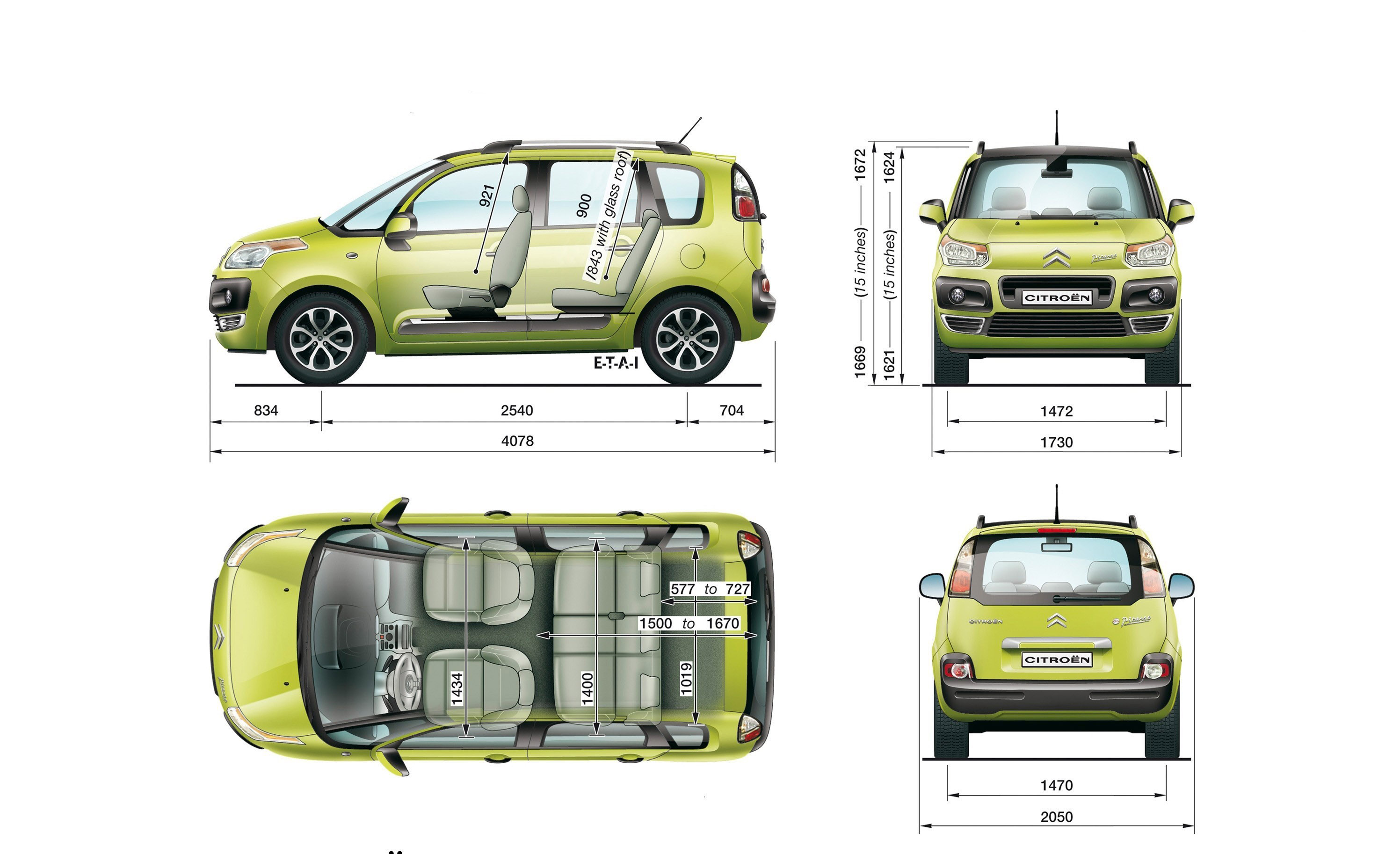 Citroen C3 Picasso - Thinking Outside The Box