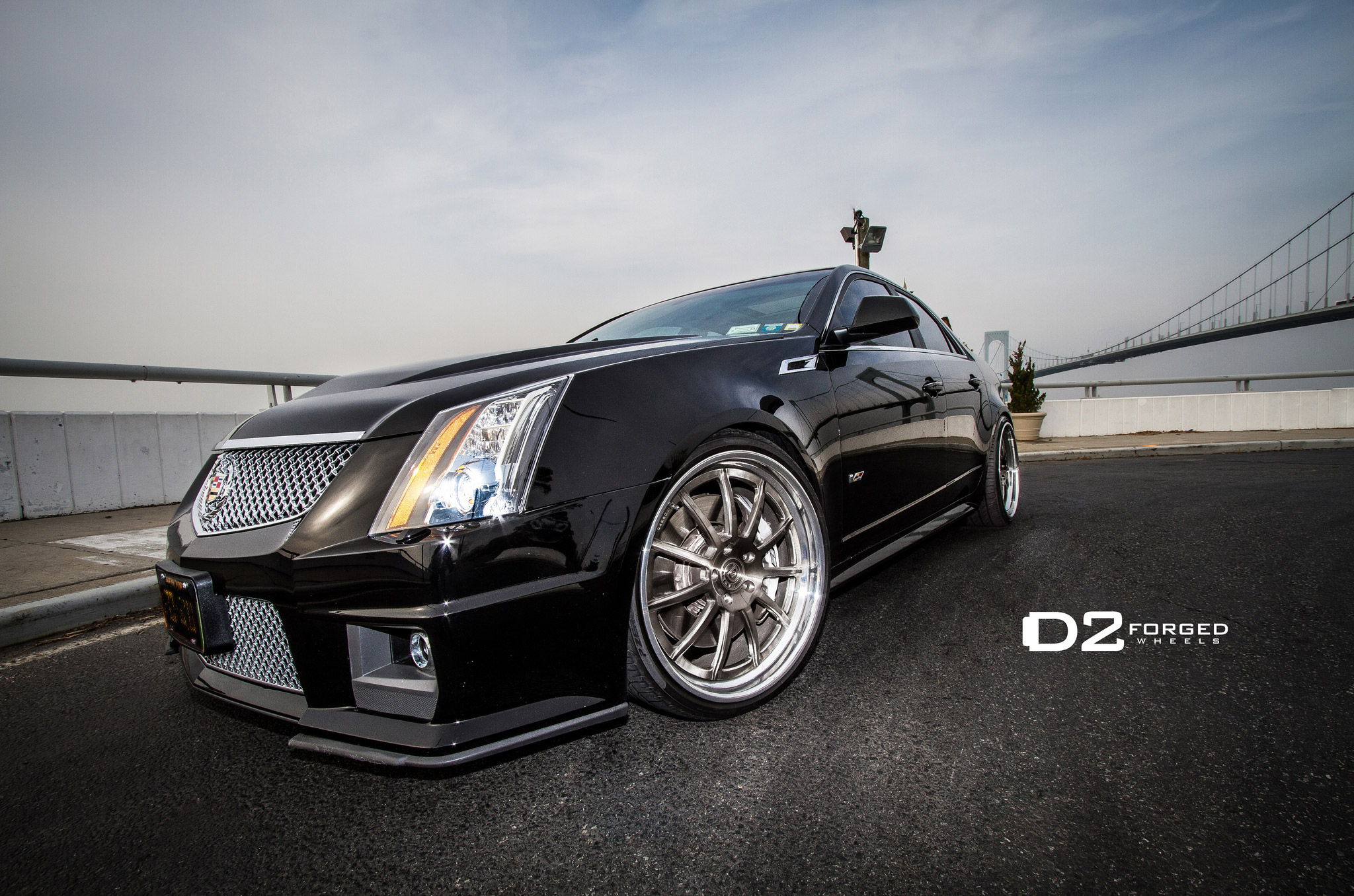 Pure Style D2forged Cadillac Cts V Fms 11