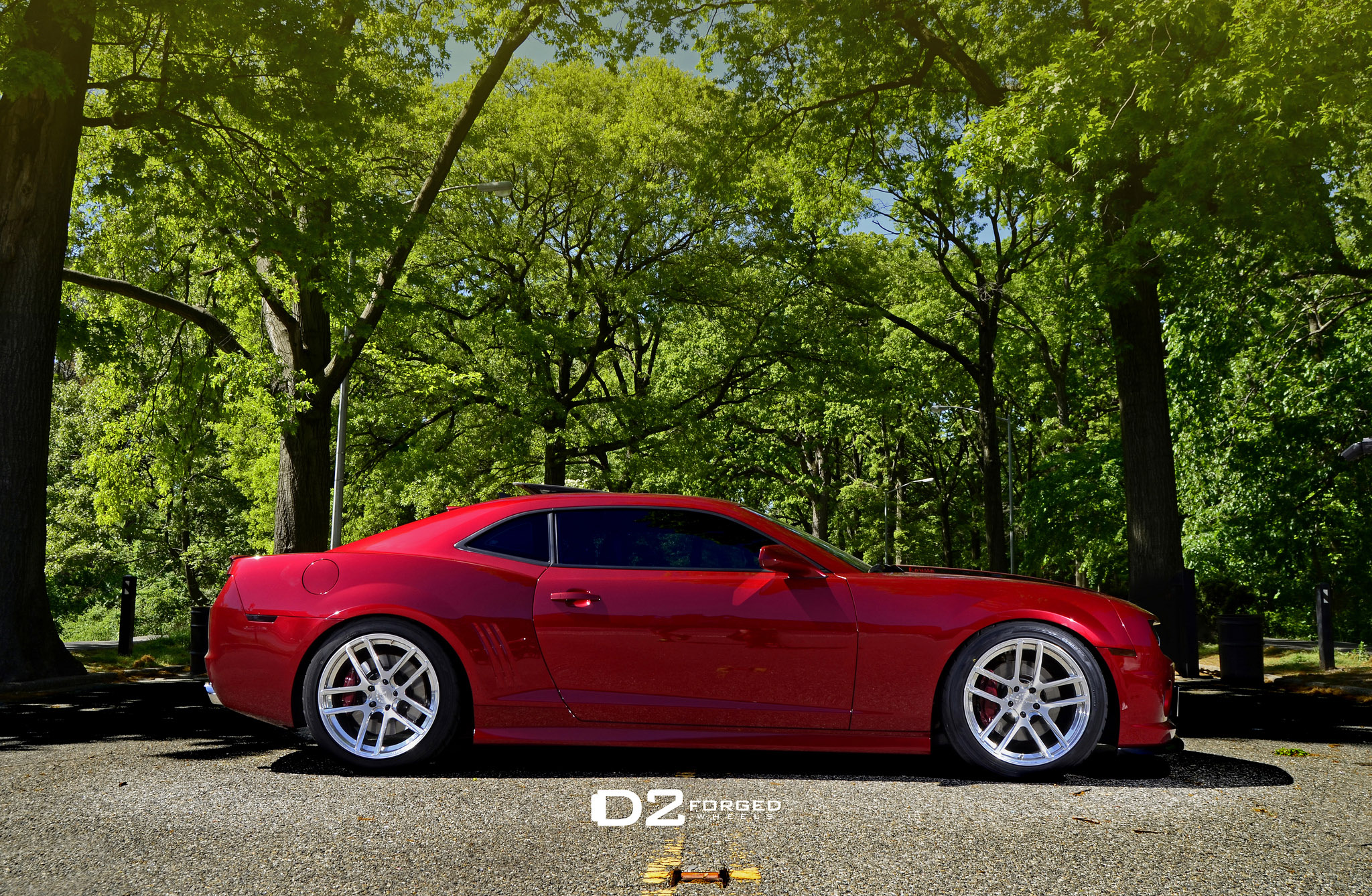 D2forged Chevrolet Camaro Ss Mb1 With Enhanced Looks