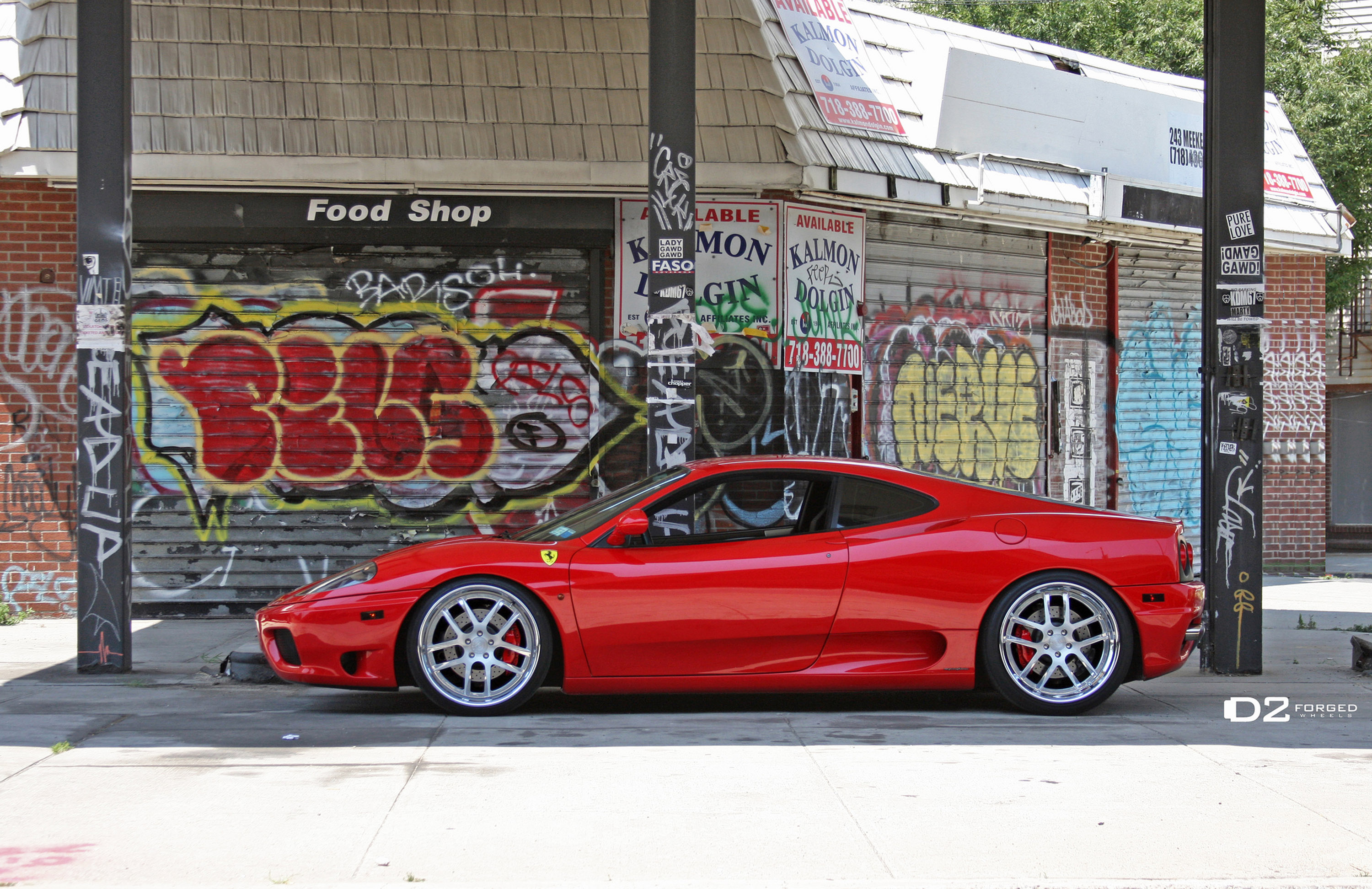 D2forged Ferrari 360 Fms 08 Picture 73373