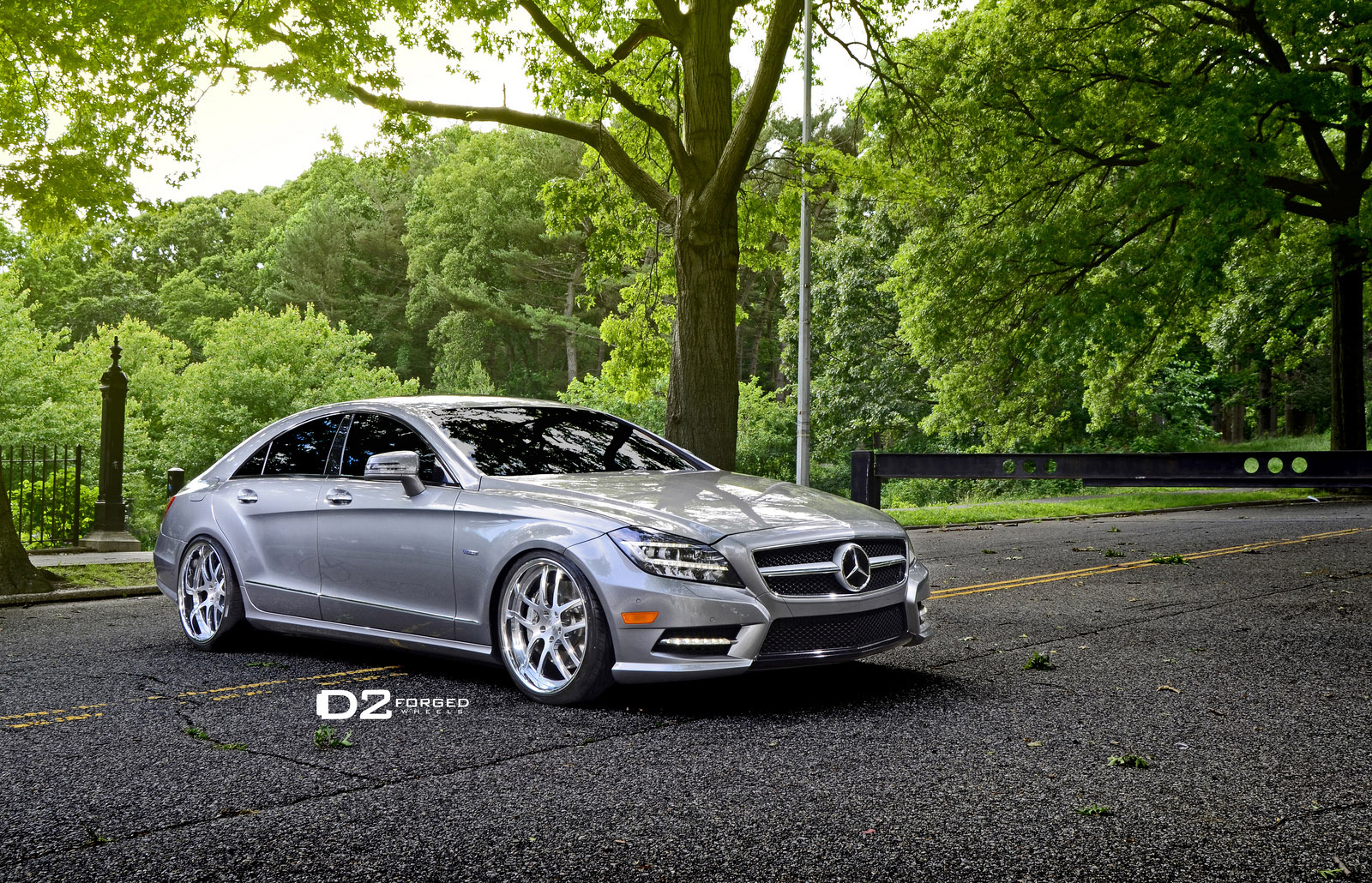 D2forged mercedes benz cls 550 fms08 for Mercedes benz in dallas