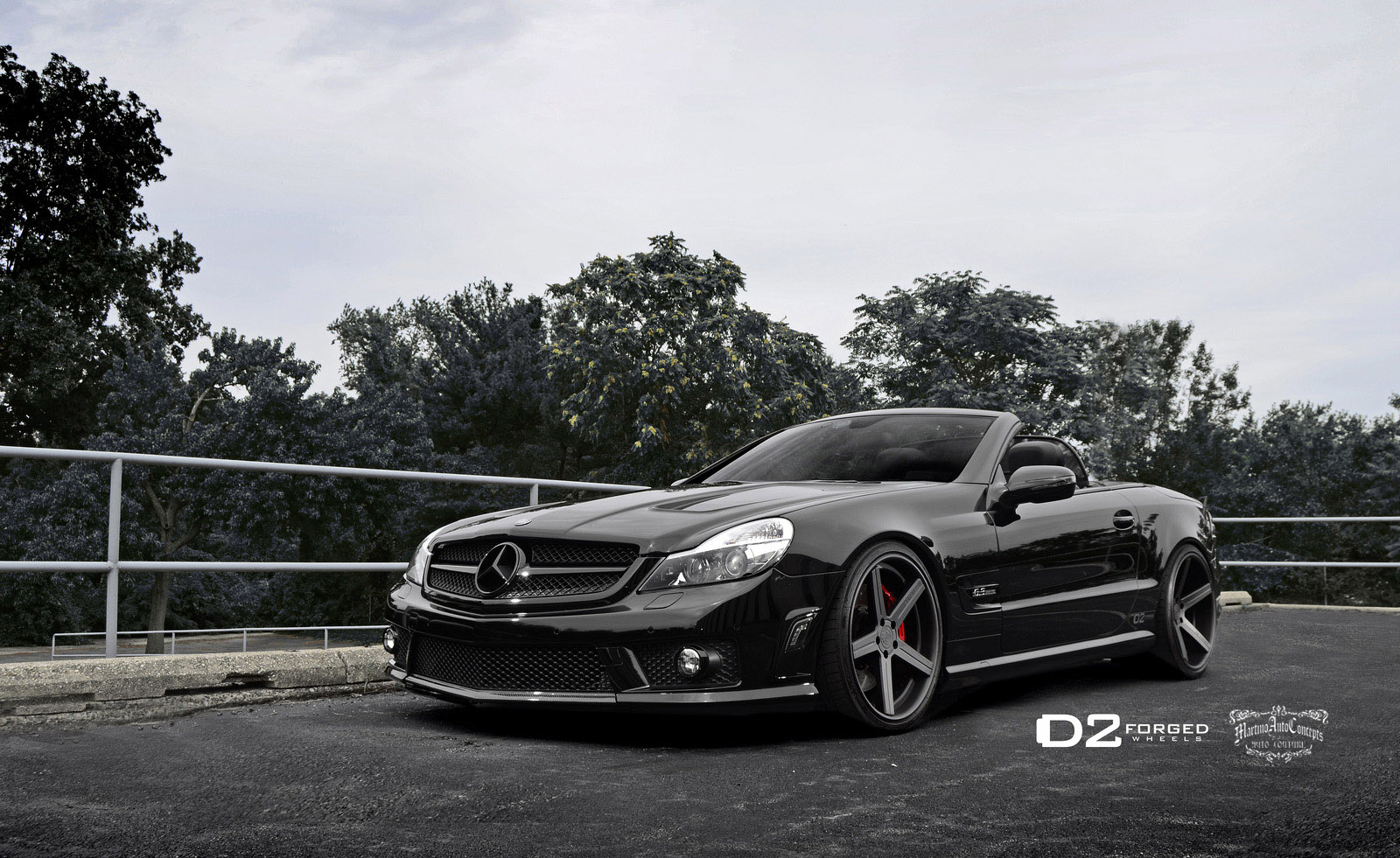 D2forged gives mercedes benz sl63 amg new look for Mercedes benz of seattle