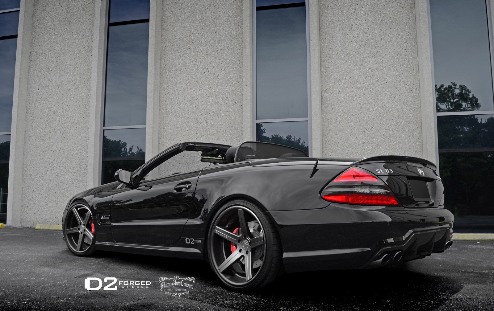 D2forged gives mercedes benz sl63 amg new look for Mercedes benz amg sl63