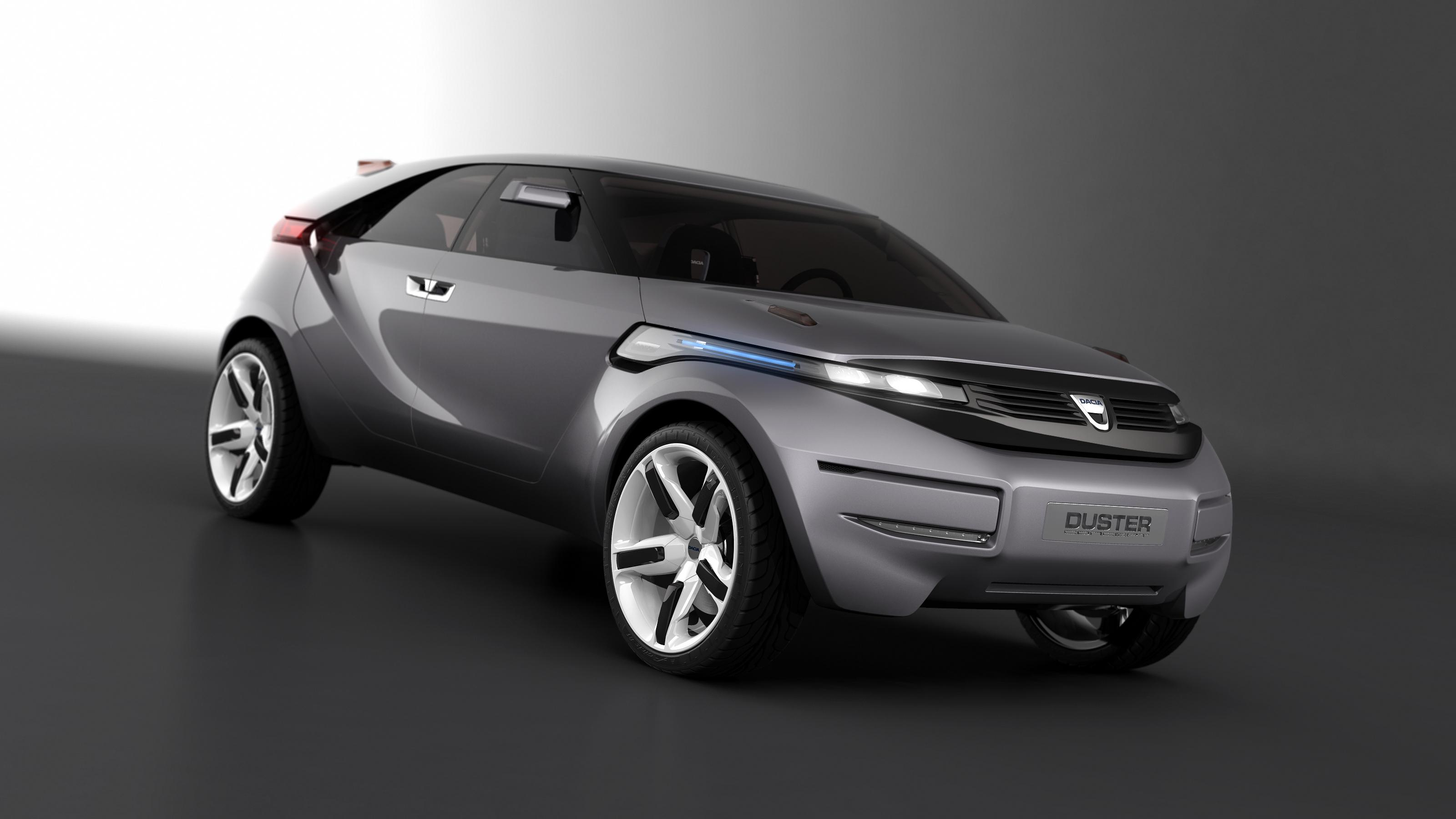 dacia duster crossover concept unveiled at geneva motor show. Black Bedroom Furniture Sets. Home Design Ideas