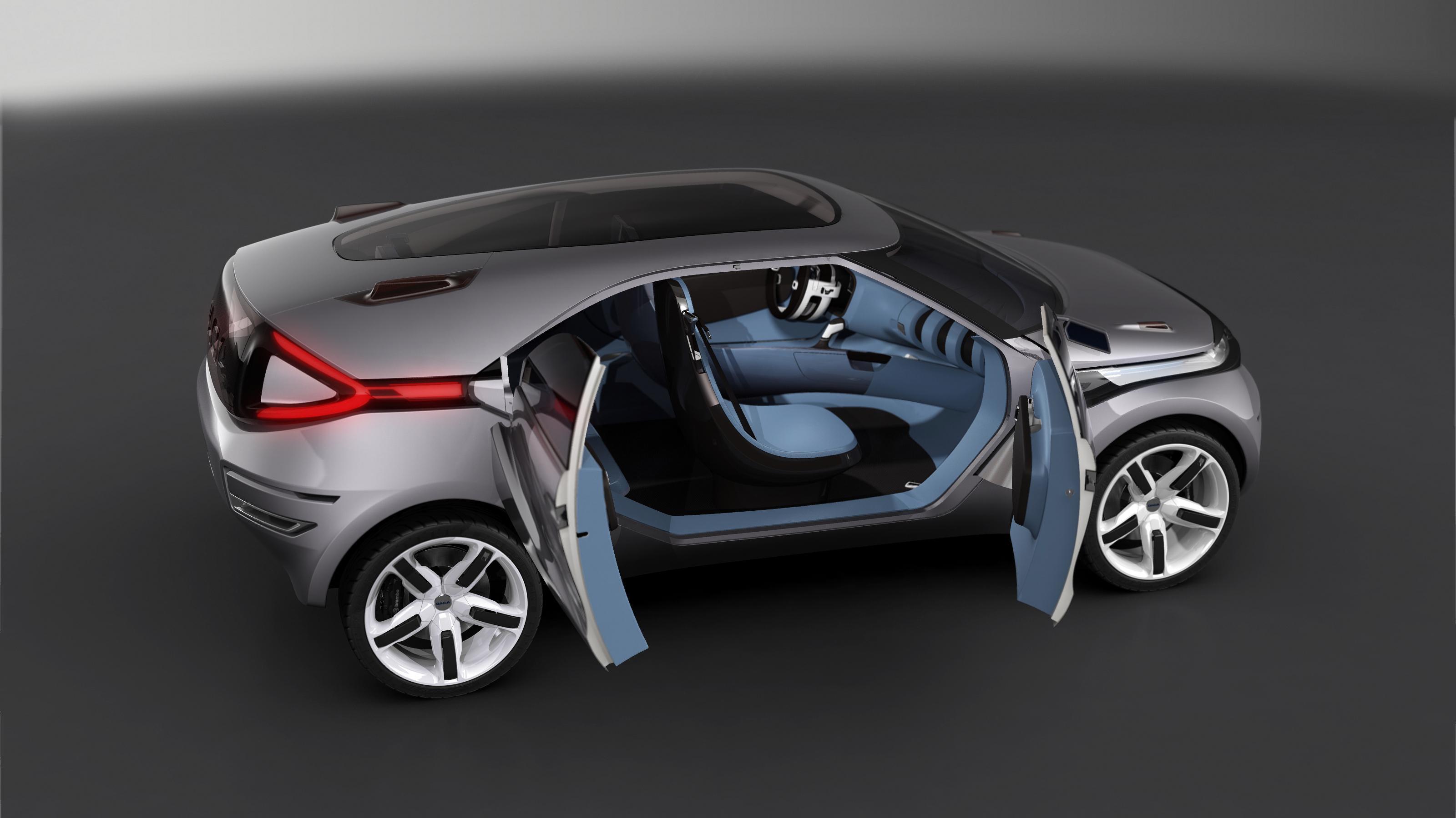 Dacia duster crossover concept picture 15177