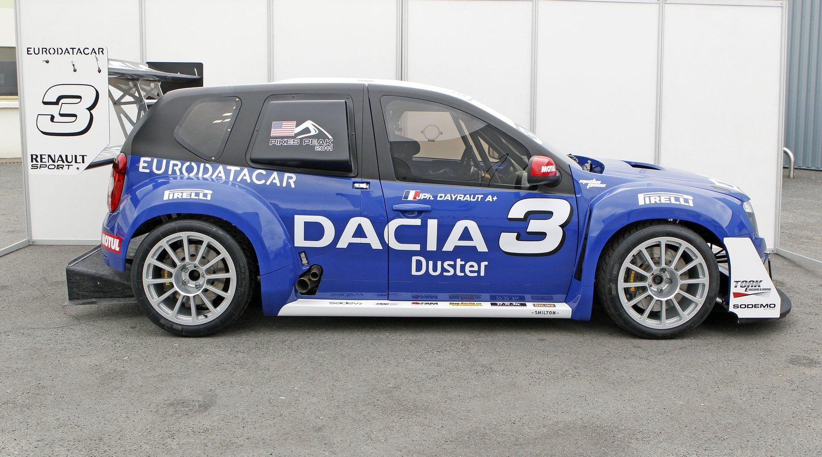 Dacia Duster No Limit Rally Car Picture