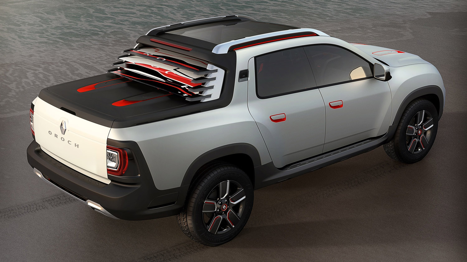 dacia duster oroch revealed in sao paulo. Black Bedroom Furniture Sets. Home Design Ideas