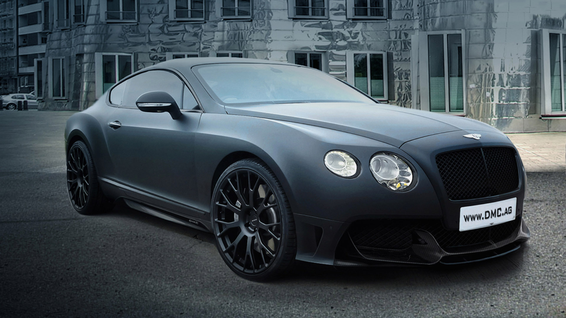 Dmc impress with bentley continental gt duro china edition for The bentley