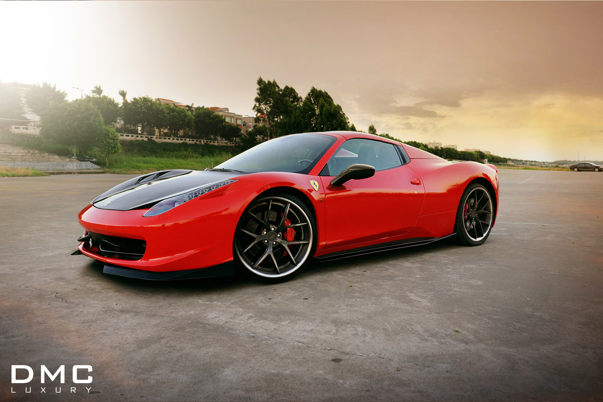 dmc transforms ferrari 458 italia spider. Black Bedroom Furniture Sets. Home Design Ideas