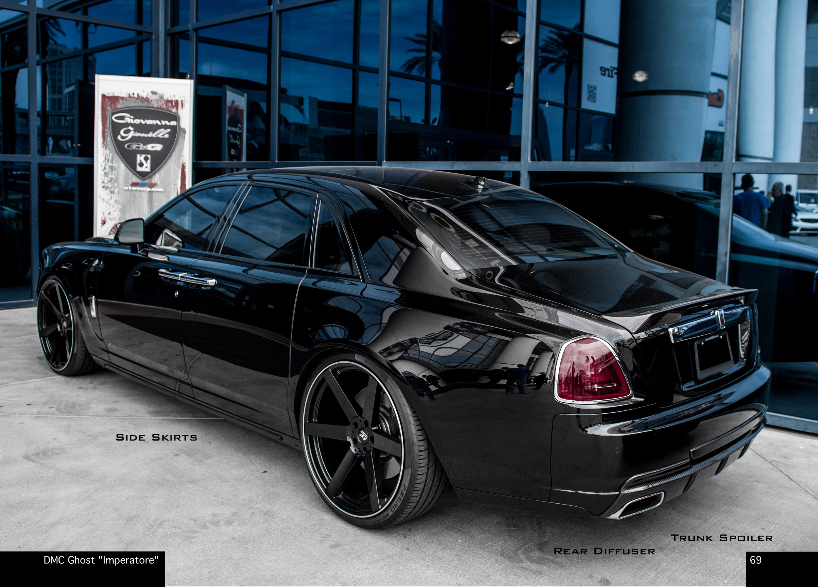 Dmc Rolls Royce Ghost Imperatore Picture 92126