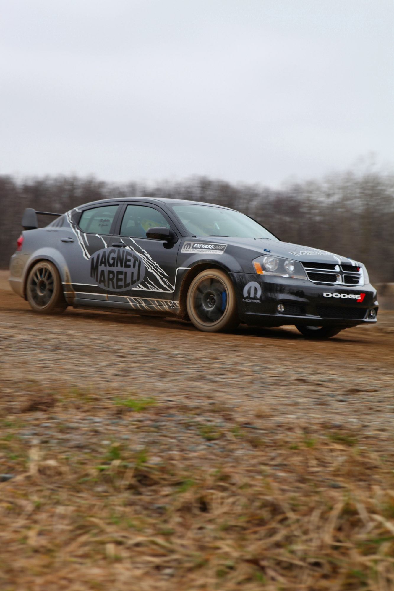 Dodge Avenger Rally Car Picture 4