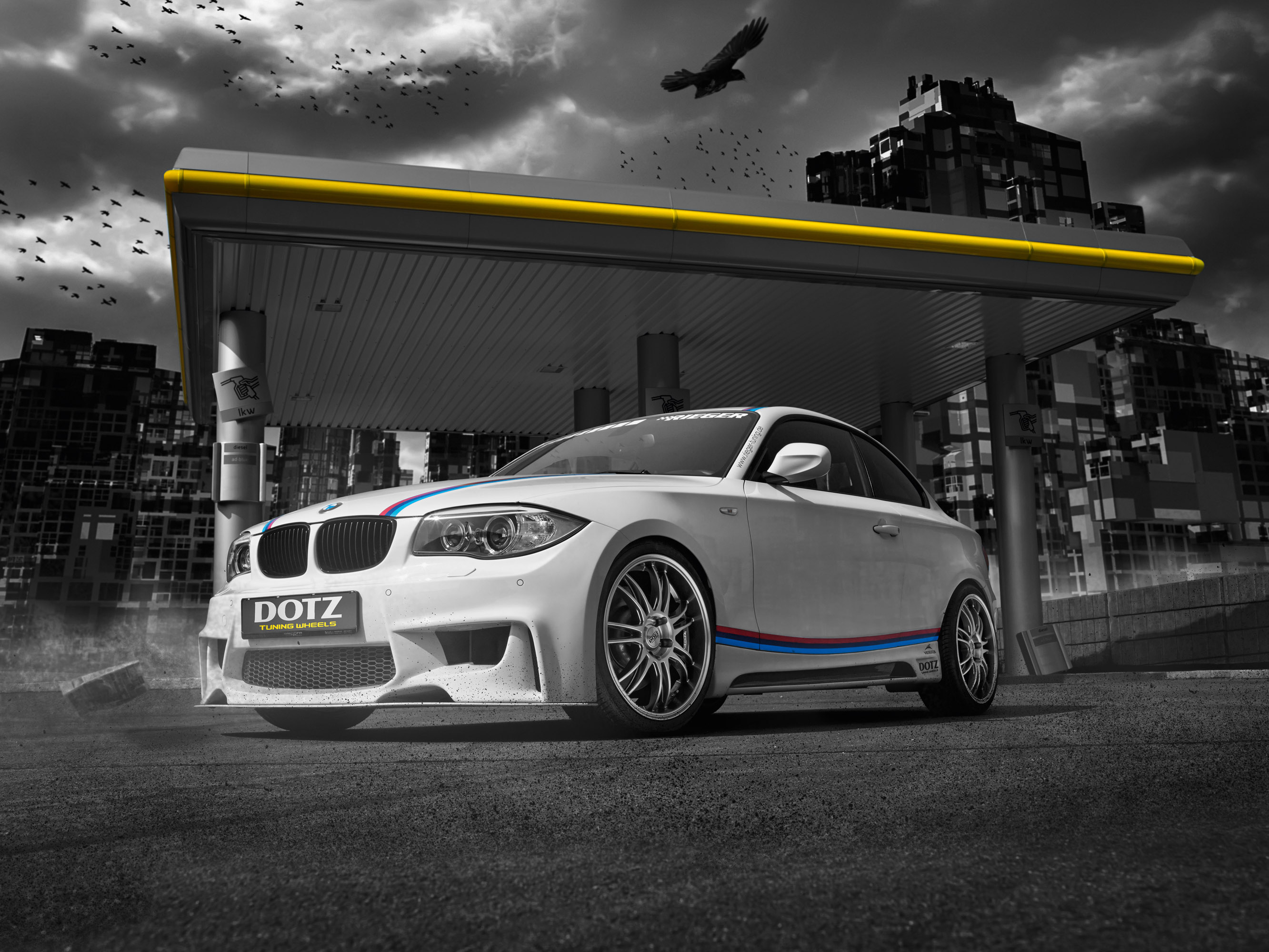 Bmw 135i Coupe Gets Some Extras From Rieger Tuning And