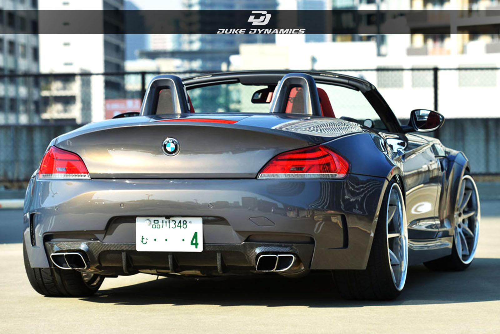 duke dynamics bmw z4 wide body kit. Black Bedroom Furniture Sets. Home Design Ideas