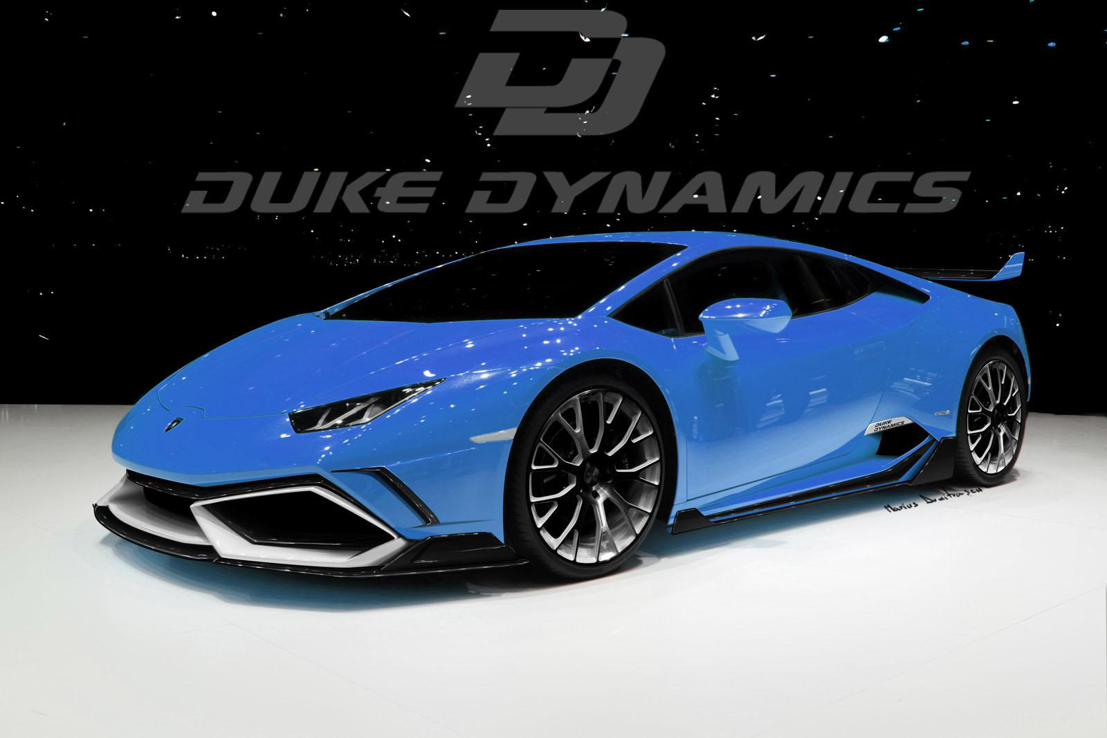 Cost To Paint A Car >> Duke Dynamics Lamborghini Huracan LP610-4 Arrow