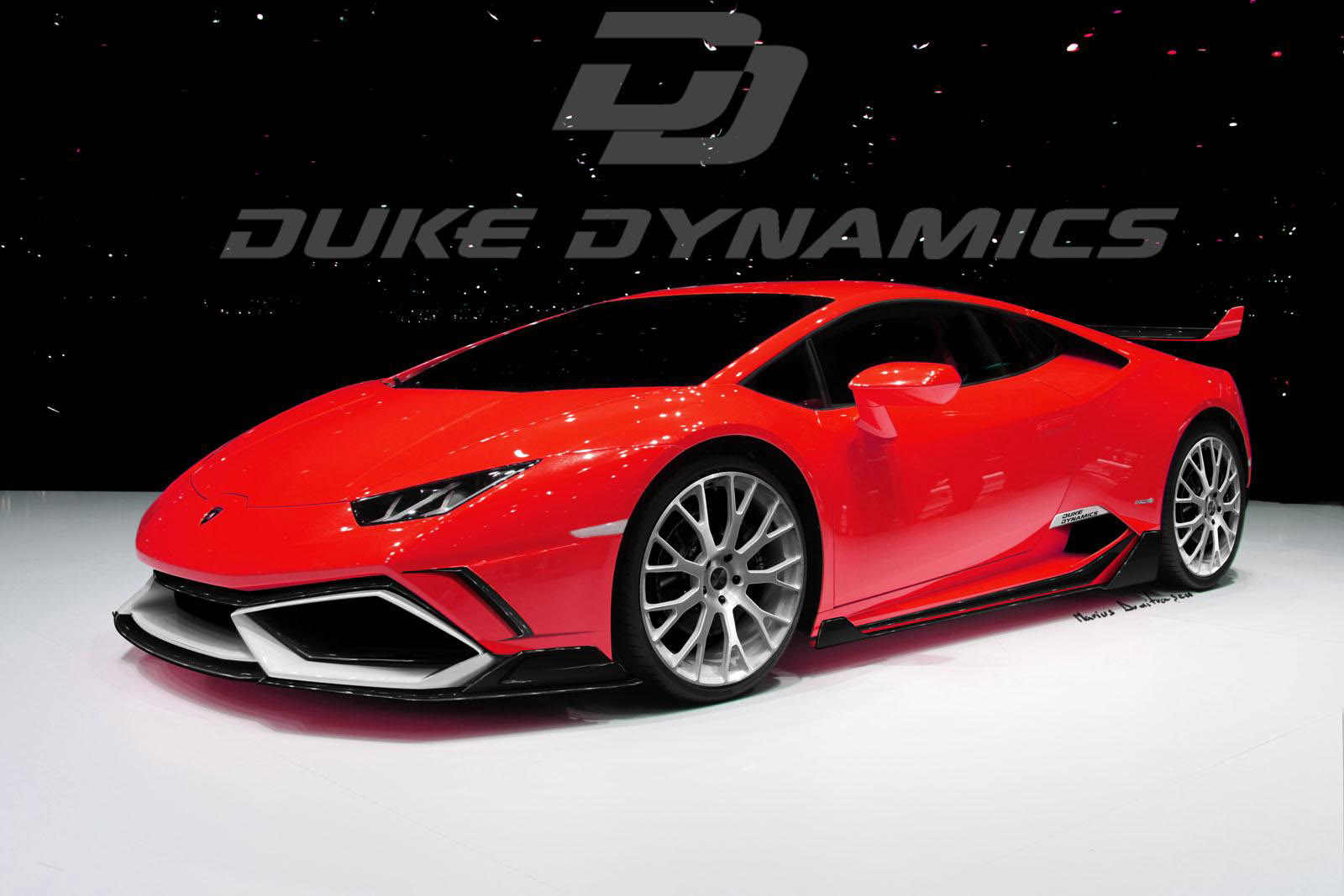duke dynamics lamborghini huracan lp6104 arrow