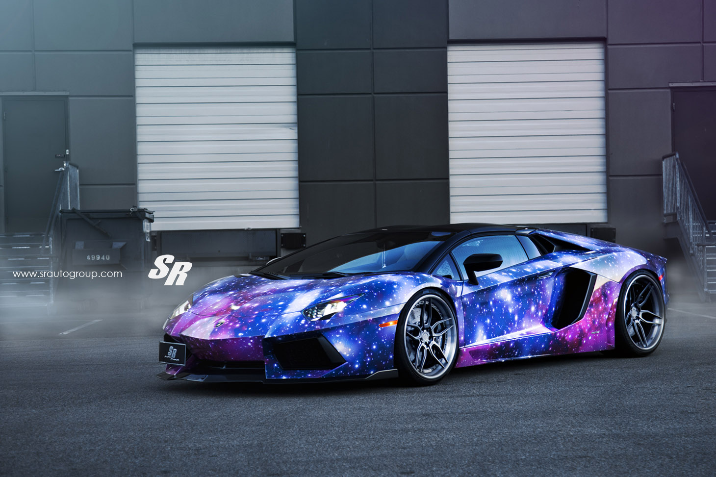 "Lamborghini Aventador Roadster Review >> SR Auto and DXSC Release Exclusive Aventador ""Guardian of the Galaxy"""