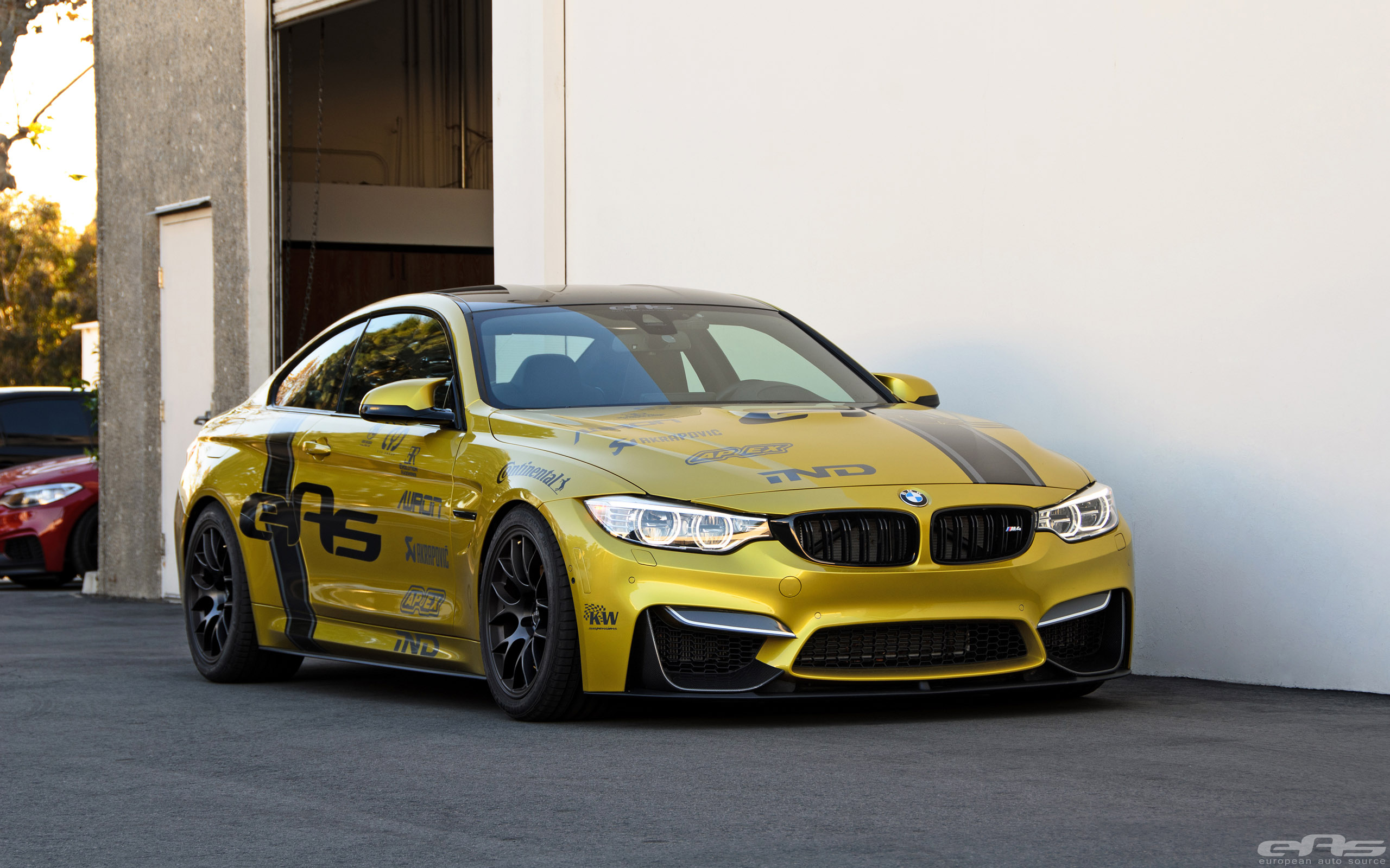 bmw m4 shows better performance due to additional kw coilover kit video. Black Bedroom Furniture Sets. Home Design Ideas