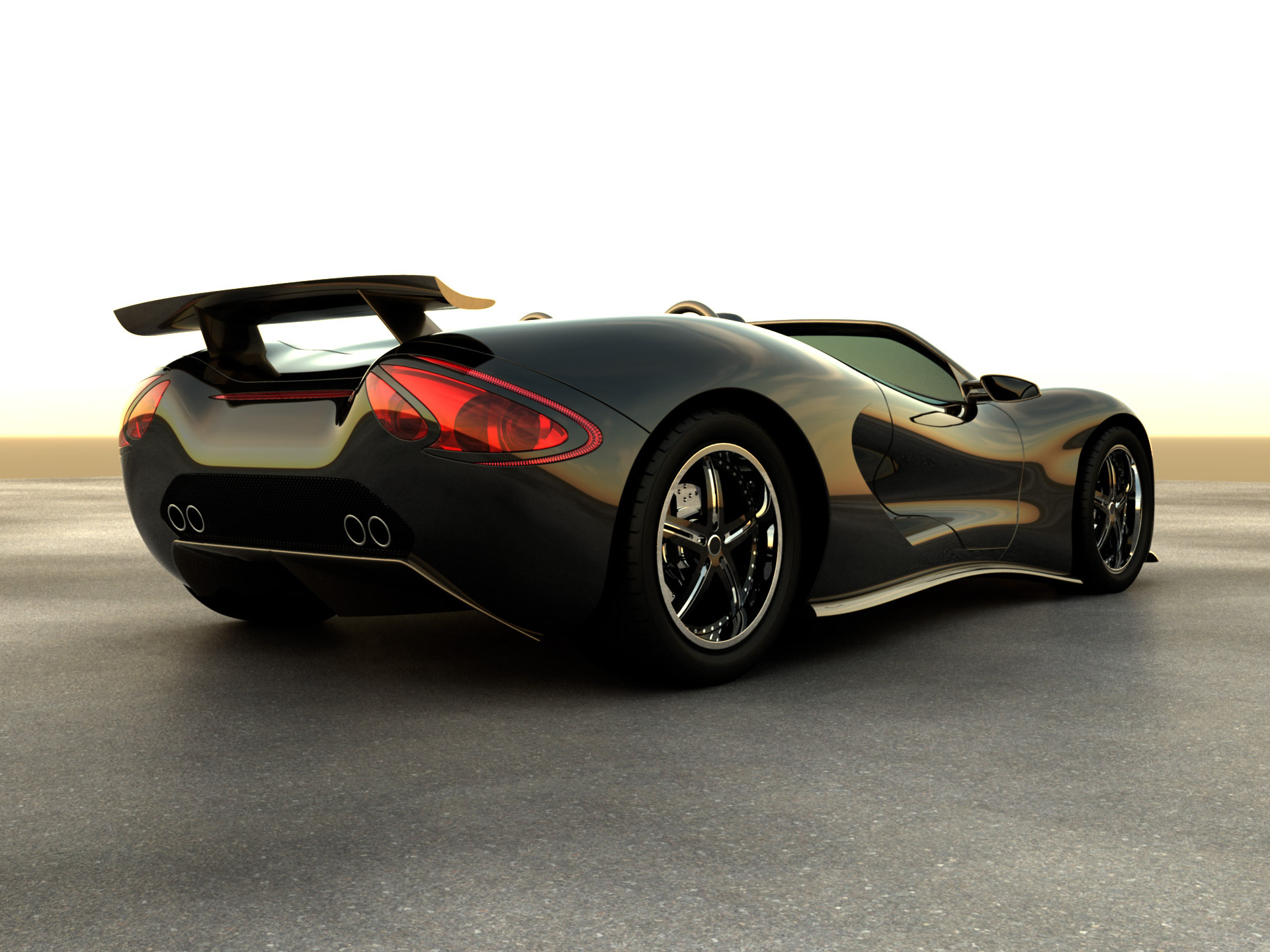 Eco Exotic Scorpiontm Supercar Picture 10386
