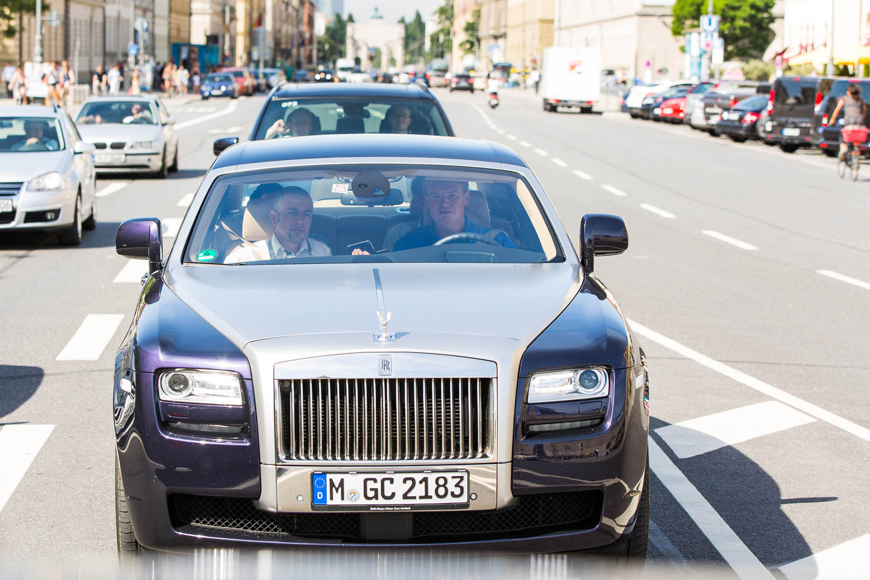 25th Bmw International Open Ernie Els And Rolls Royce Ghost