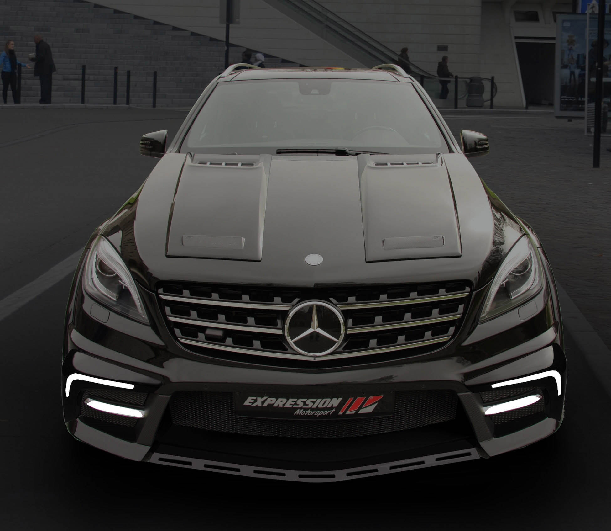 Mercedes Benz Amg Gt >> Facelift for Expression ML w166 wide body R2Z