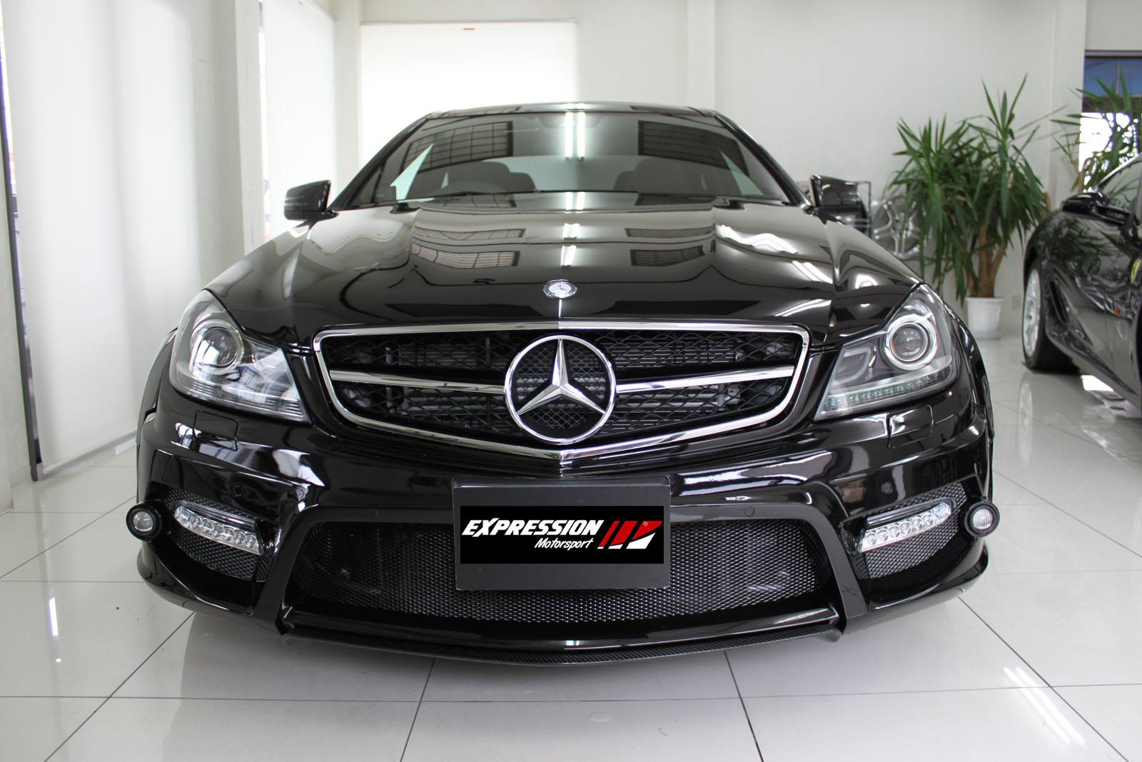 Expression Motorsport Mercedes C Class Coupe Wide Bodykit