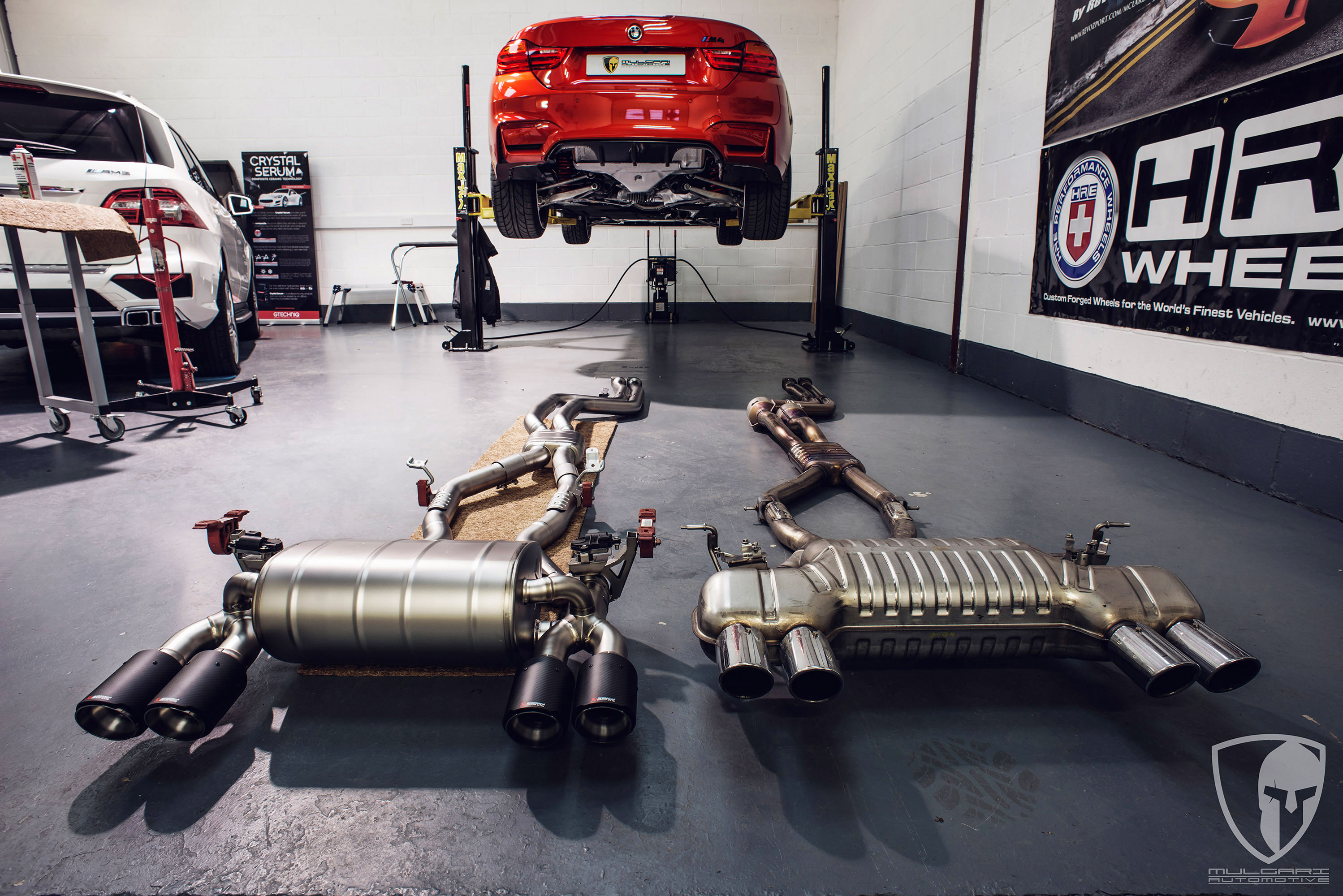 F82 Bmw M4 Receives Akrapovic Evolution Line Exhaust