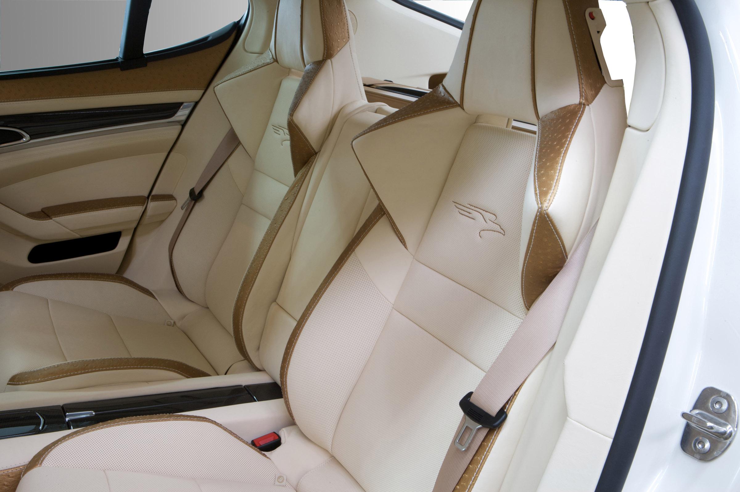 Porsche Panamera Interior Dimensions