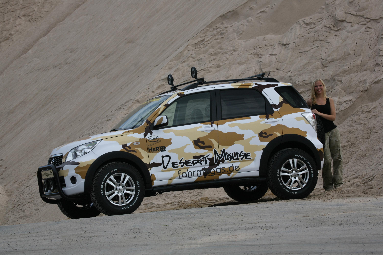 Fahrmitgas De Presents Daihatsu Terios Desert Mouse