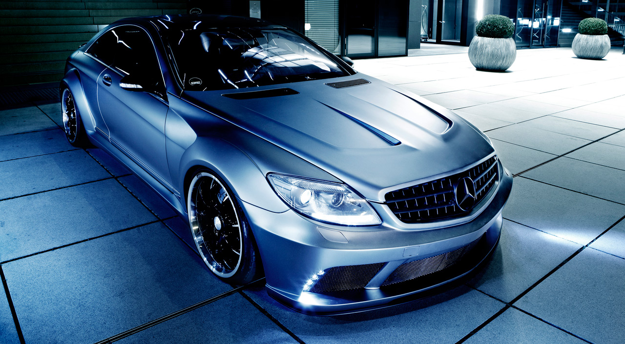 Famous parts mercedes benz cl63 amg black edition wide body for Mercedes benz amg parts
