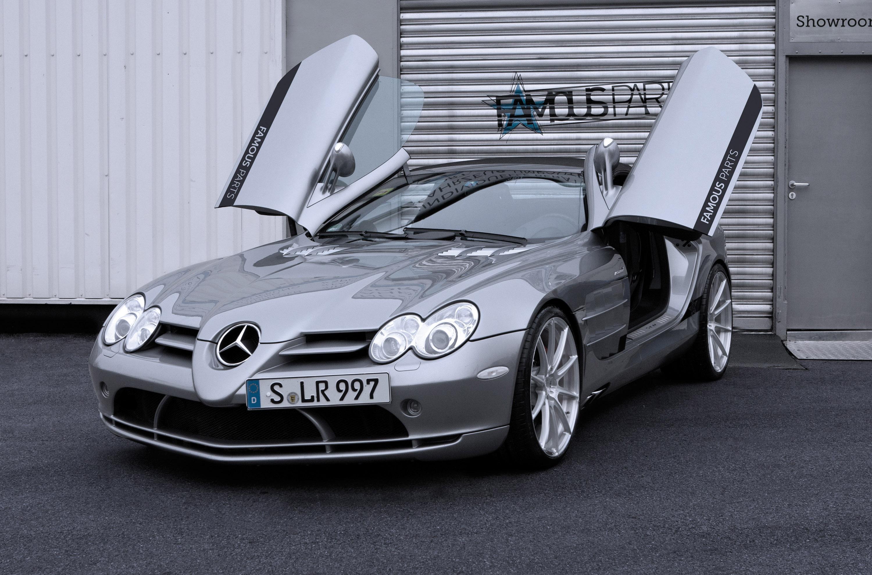 Famous parts have a mercedes benz slr mclaren roadster for Mercedes benz slr