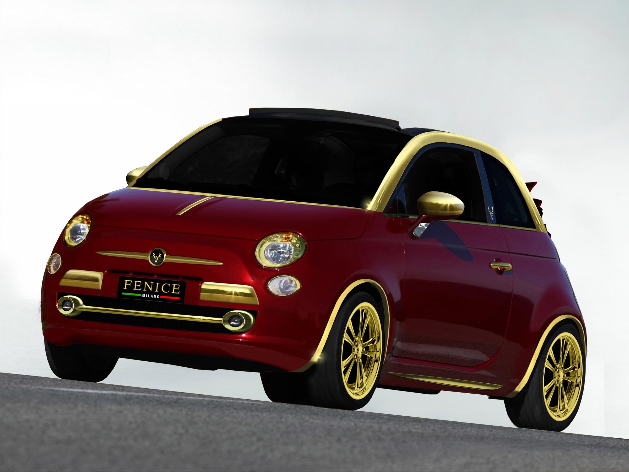 Fiat 500C La Dolce Vita by Fenice Milano