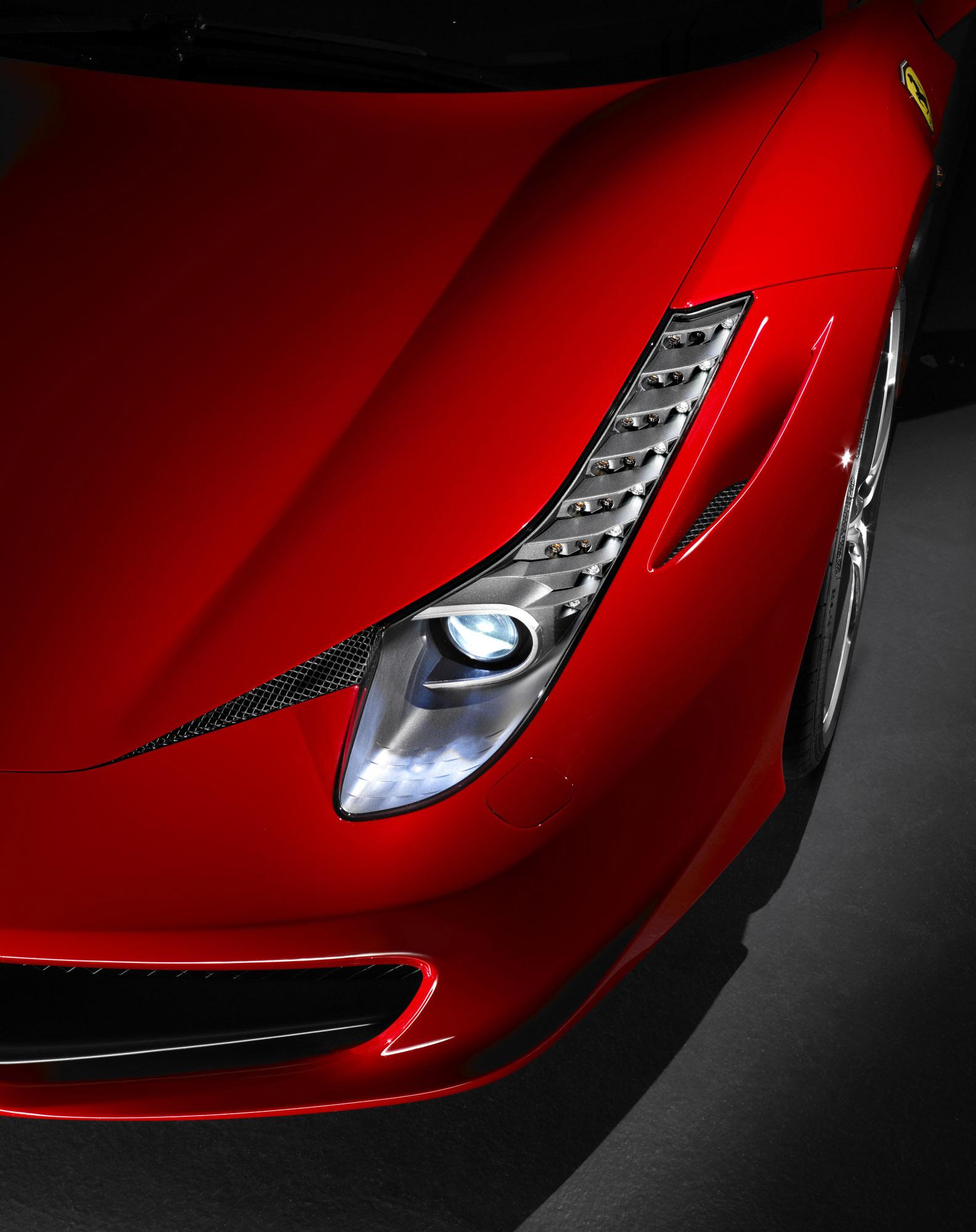 Ferrari unveiled the 458 italias interior ferrari 458 italia vanachro Gallery