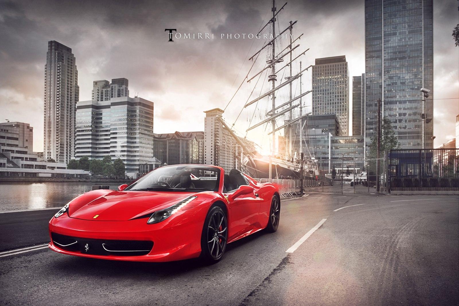 Ferrari 458 Spider Through the Eyes of a Photographer