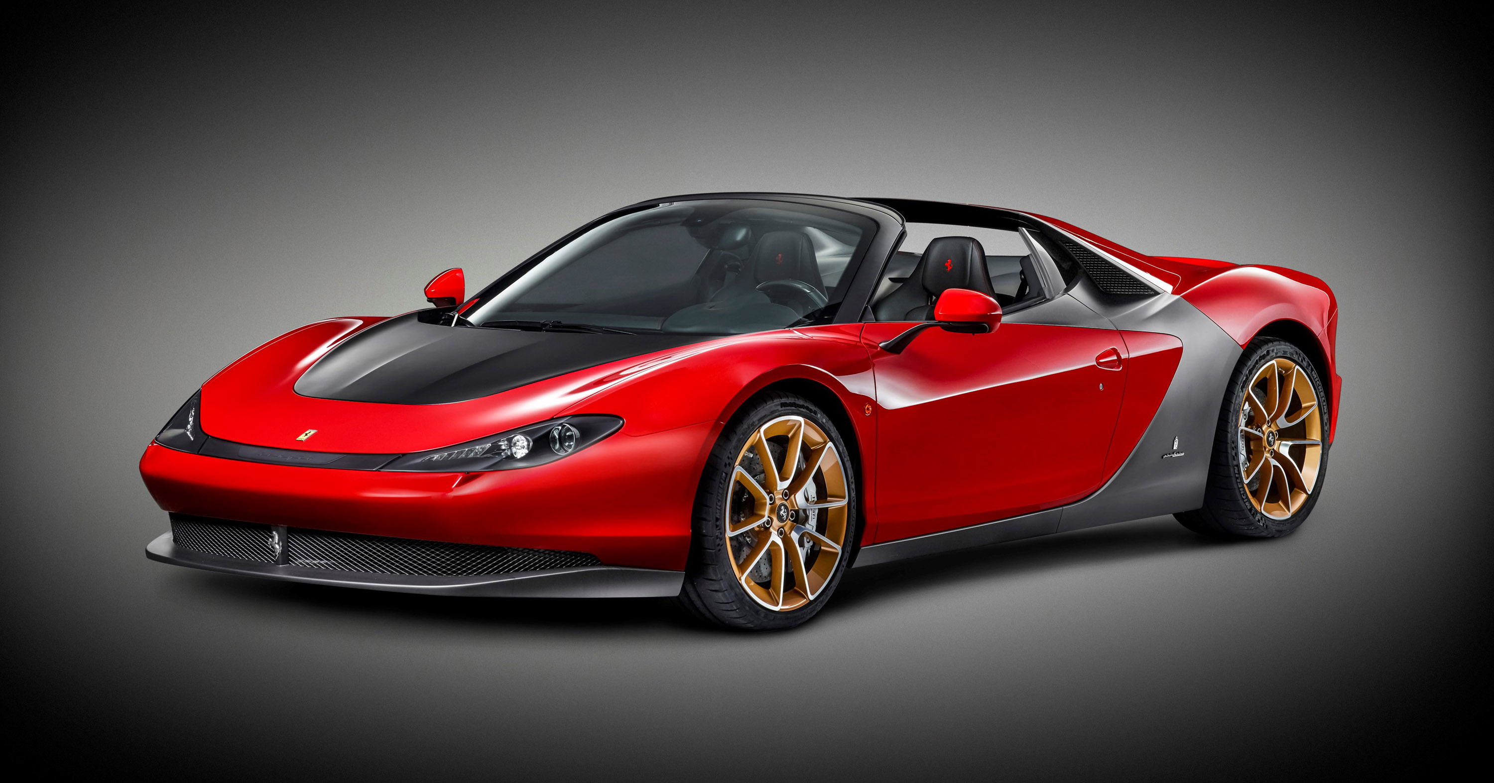 One Off Ferrari Sergio Arrives In Uae