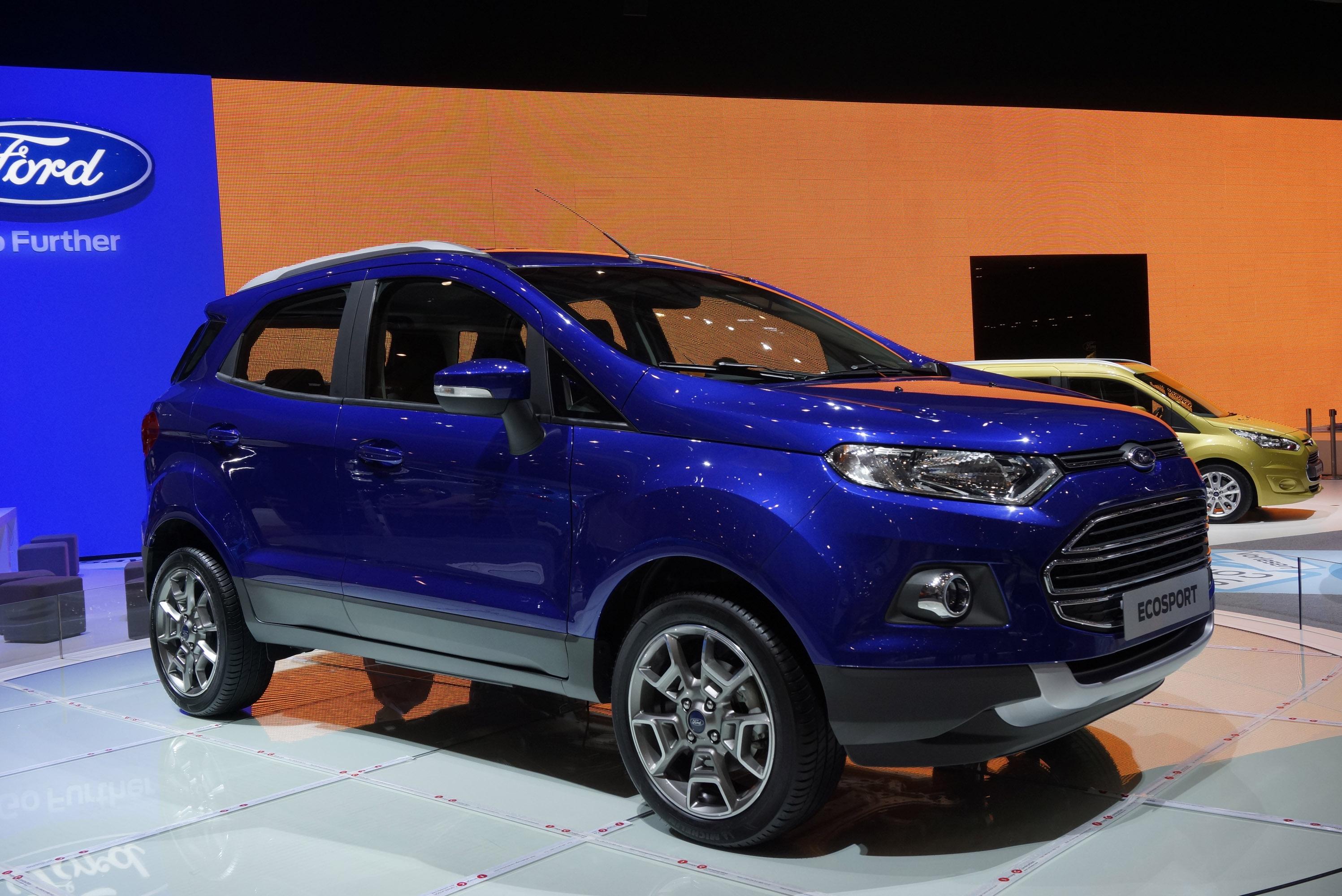 2013 Geneva Motor Show Ford EcoSport