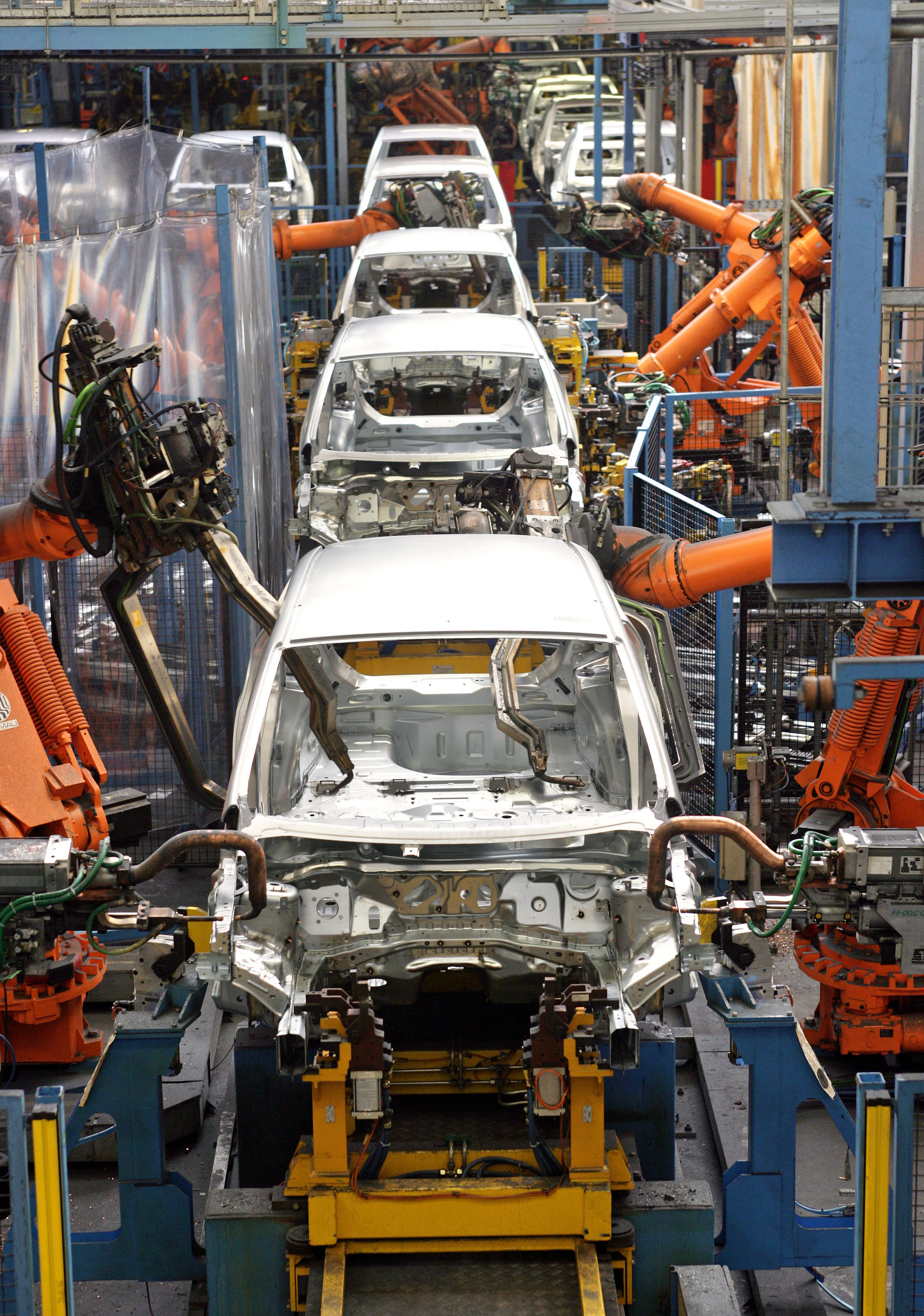 The All New Ford Fiesta Production Begins Of A Small