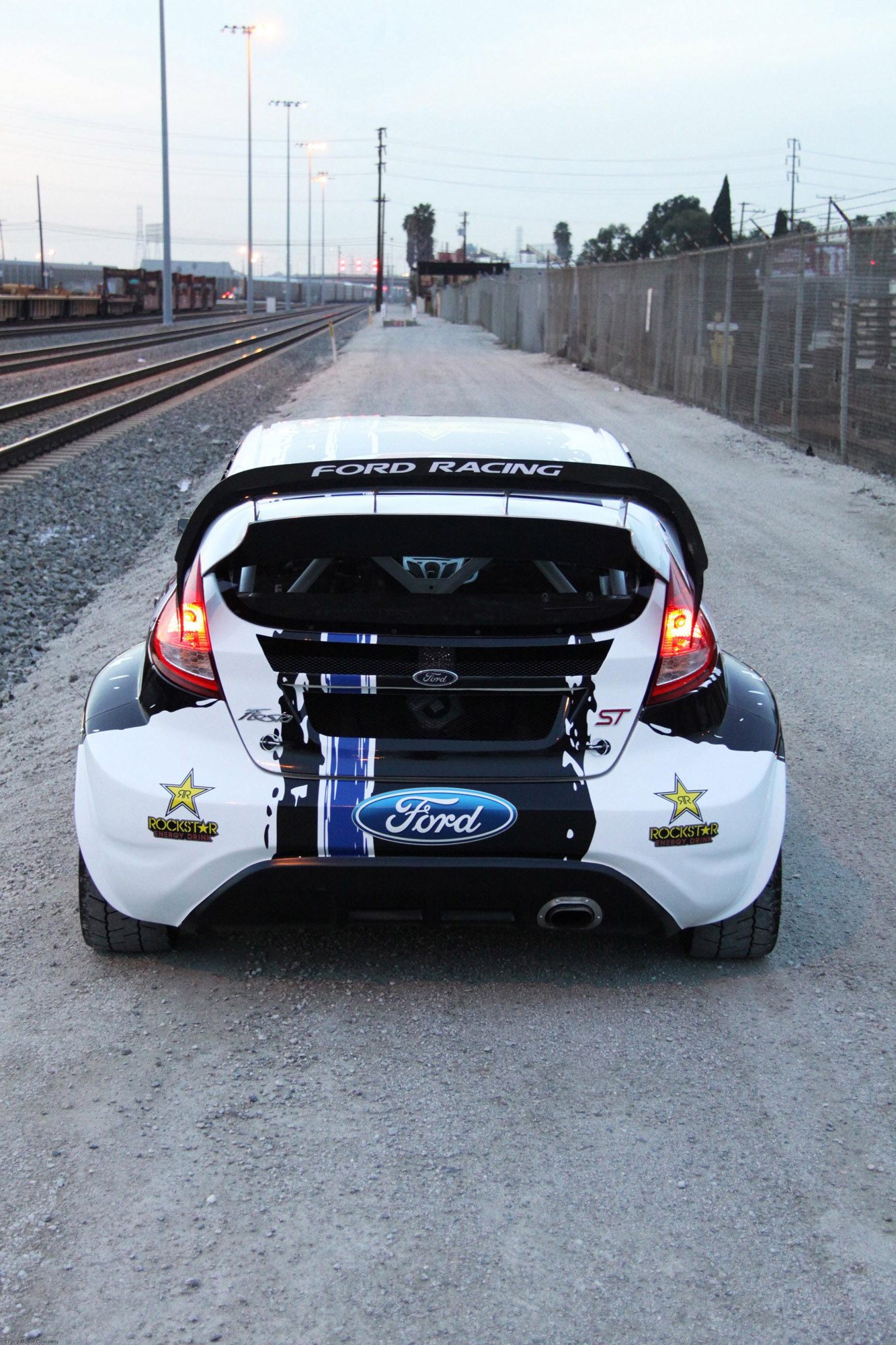 2012 Ford Focus Review >> Ford Fiesta ST Global RallyCross Championship Race Car