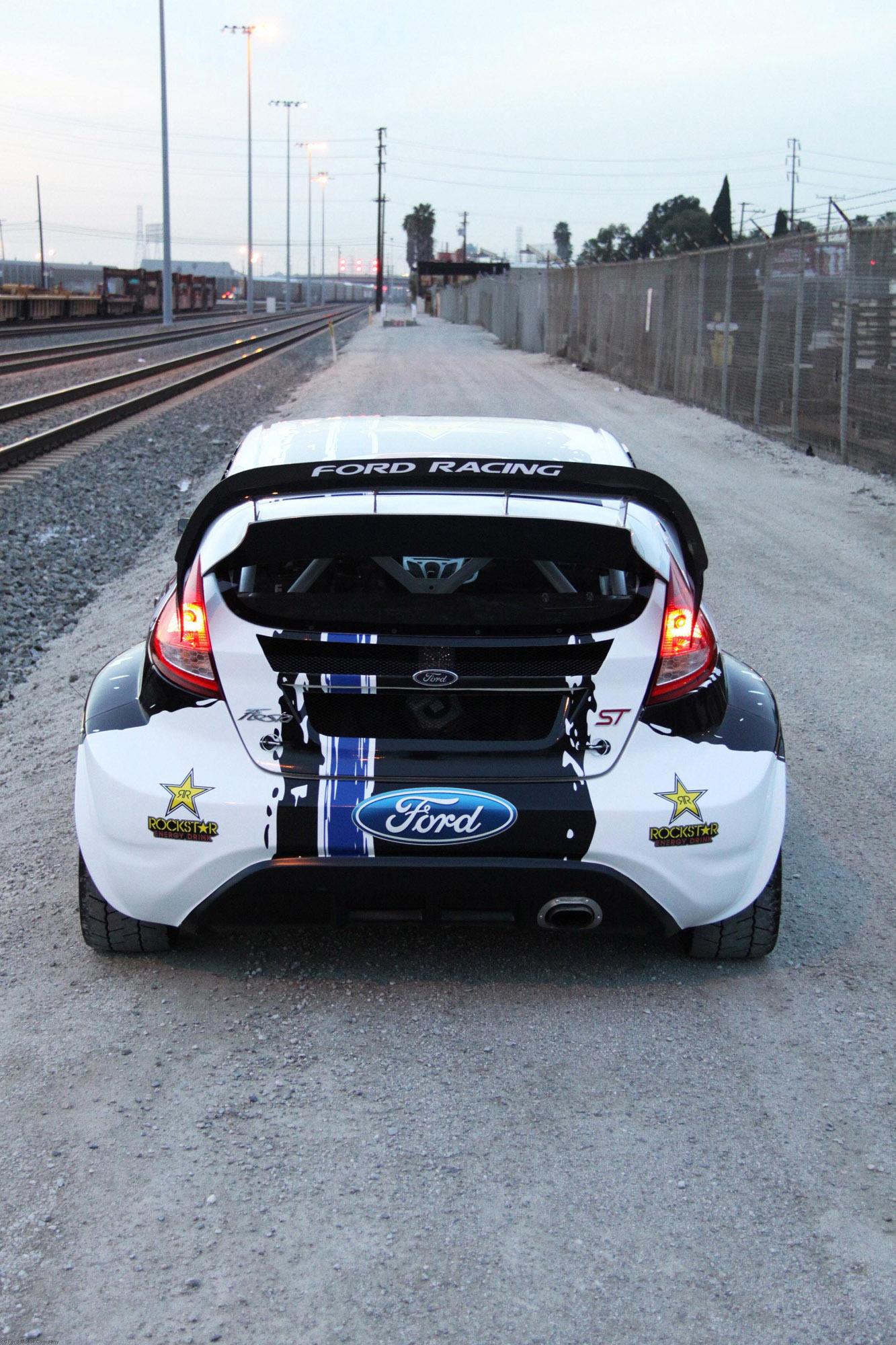 ford fiesta st global rallycross championship race car. Black Bedroom Furniture Sets. Home Design Ideas