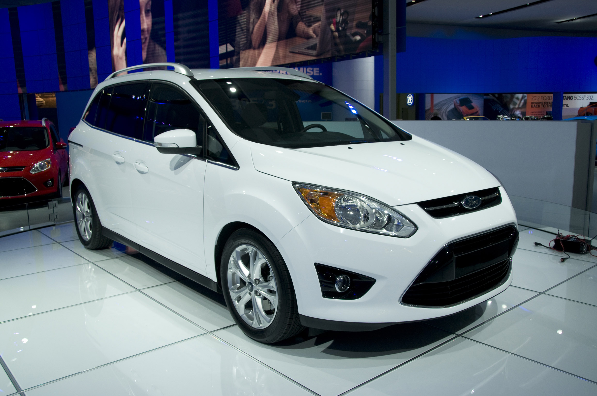 Ford Grand C-MAX US spec Detroit 2011 - Picture 47288