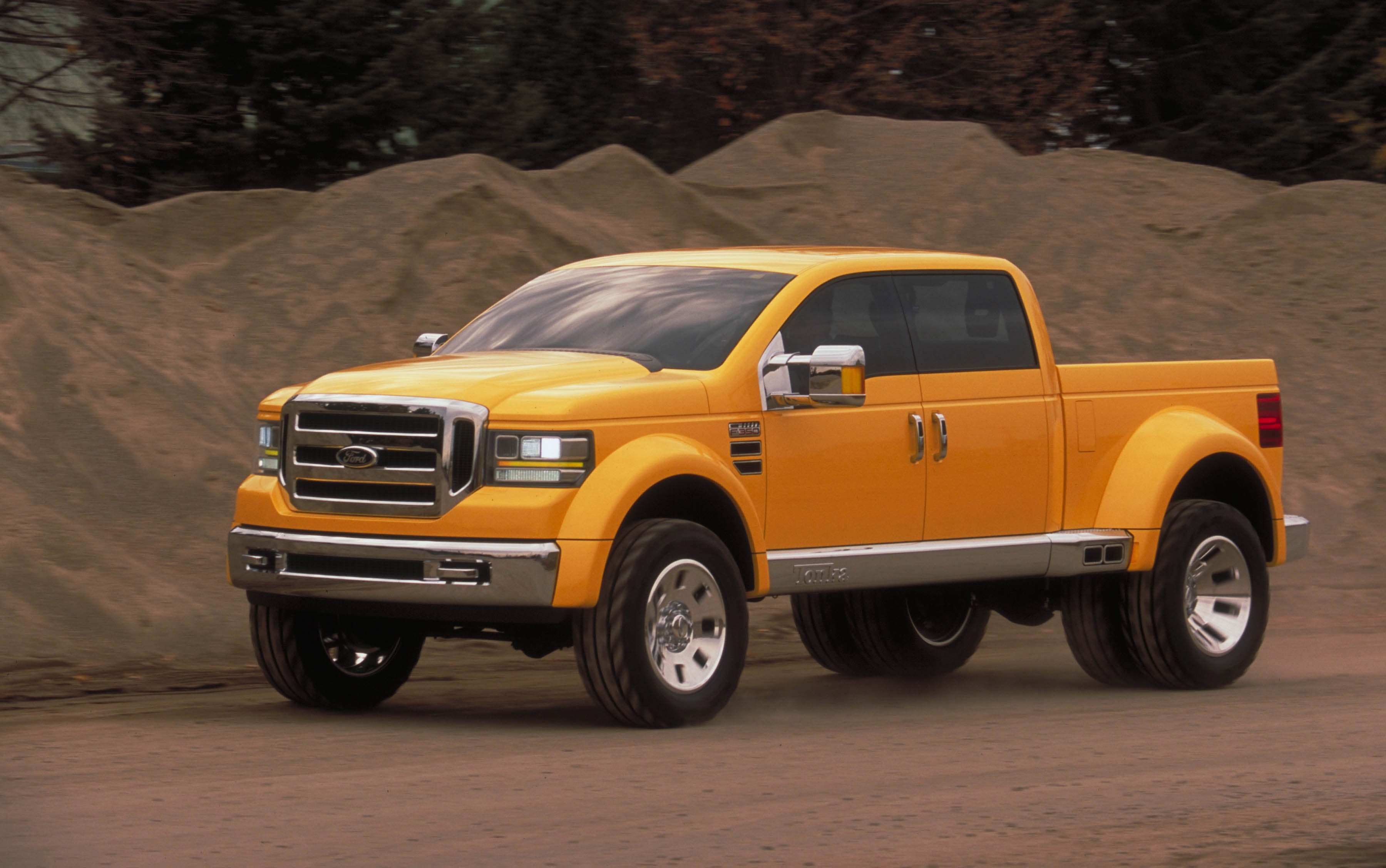Ford mighty f 350 tonka concept