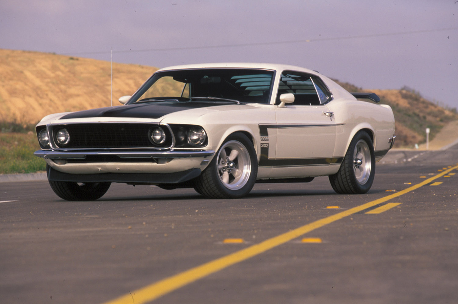 Ford Mustang Boss 302 1969 Picture 16596