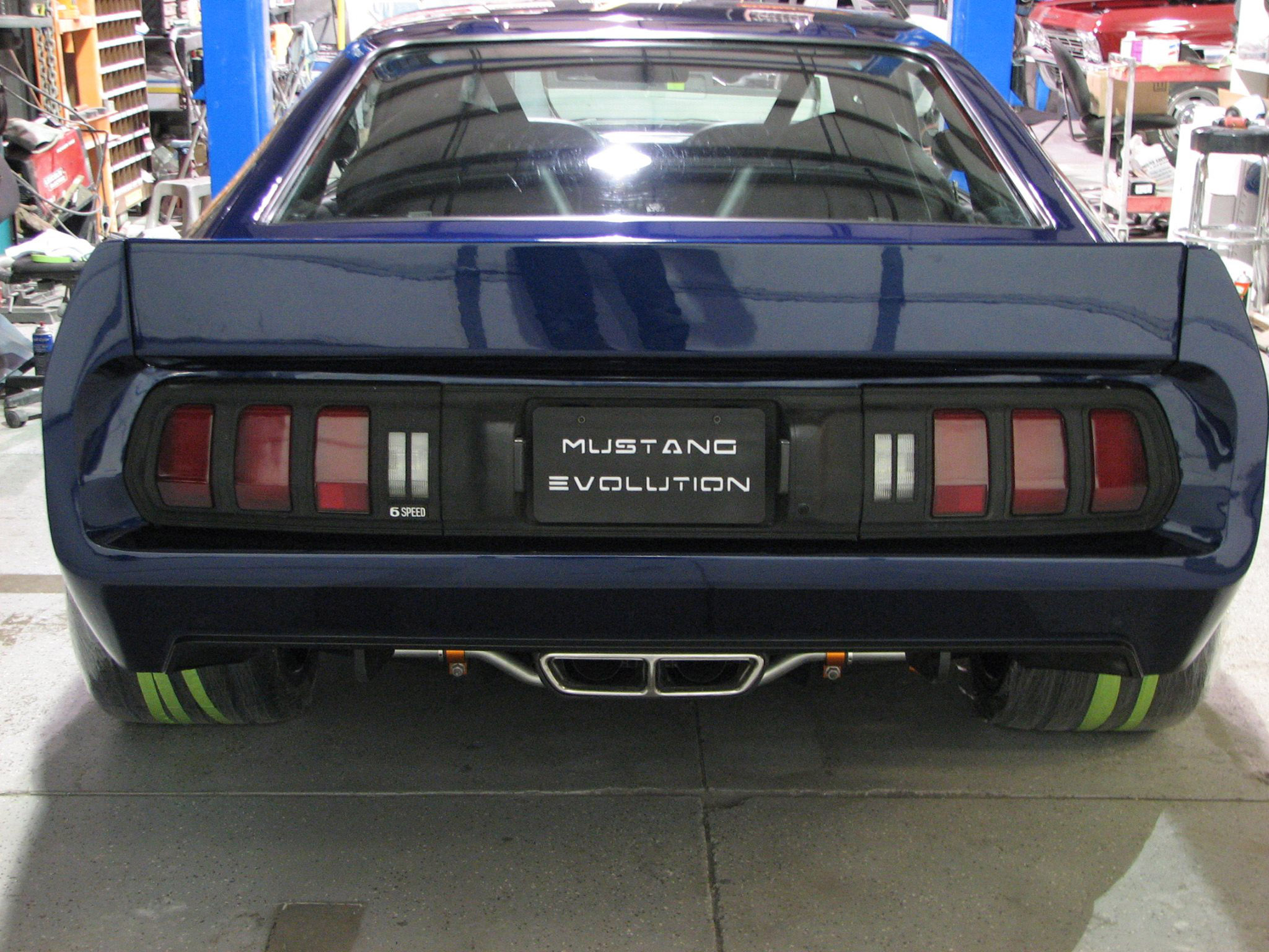 A Team Racing Transforms 1978 Ford Mustang Ii Video