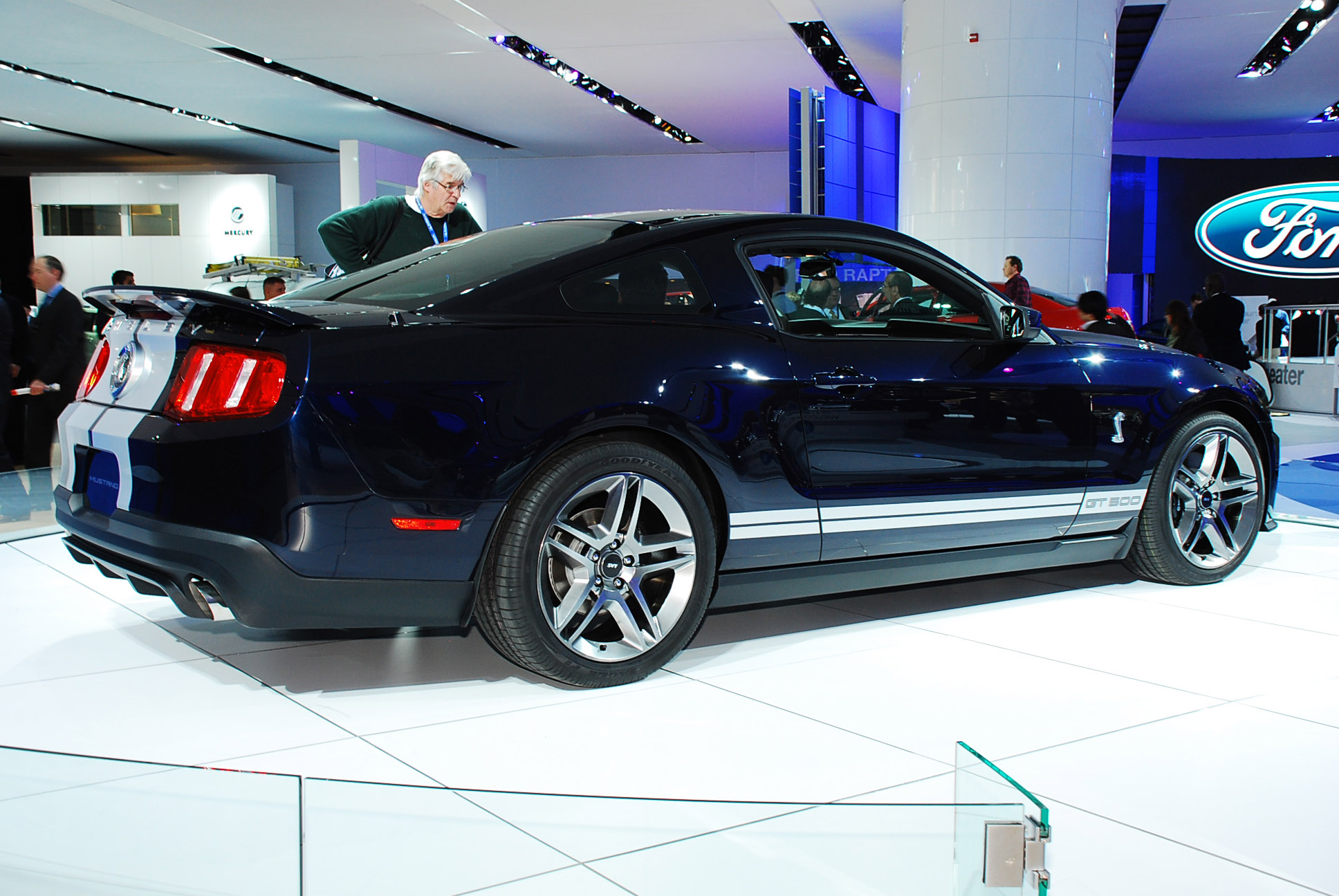 Ford mustang shelby gt500 coupe detroit