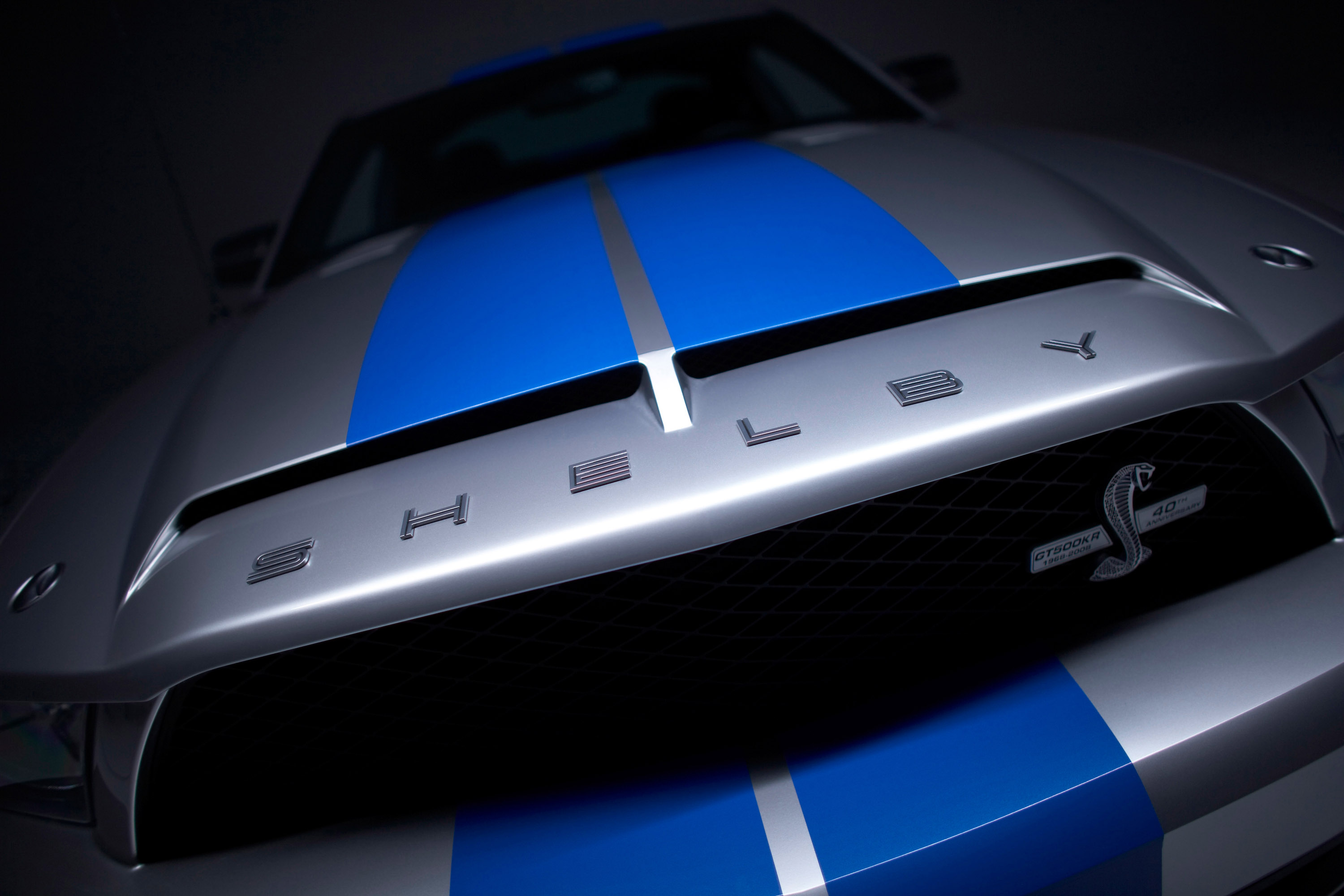 ford mustang shelby gt500 logo image