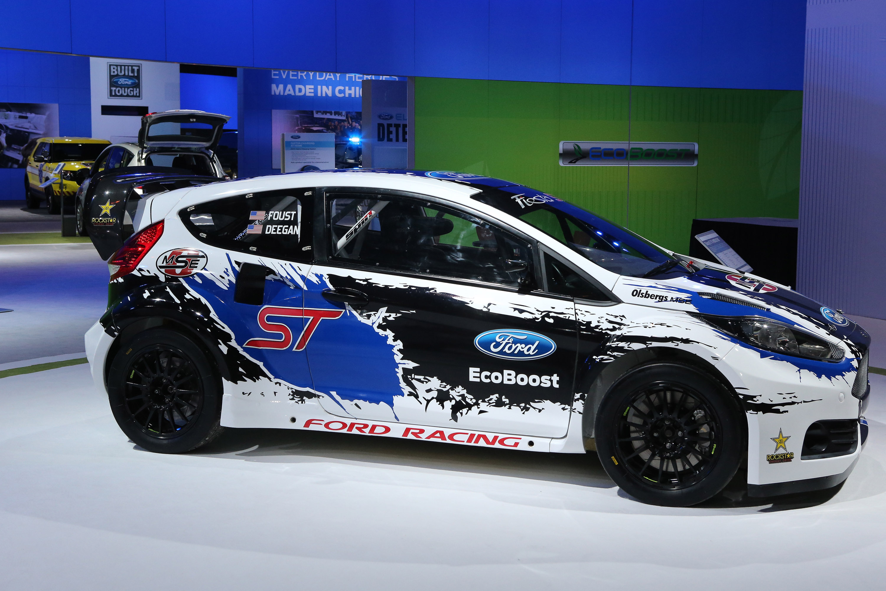 Ford Racing Fiesta St Chicago 2013 Picture 80867